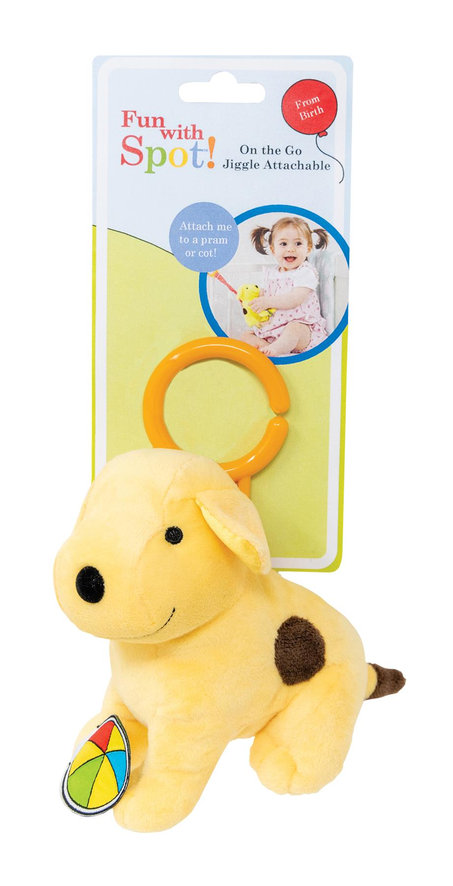 Rainbow Designs PADDINGTON FOR BABY JIGGLE ATTACHABLE Baby Toys Activities