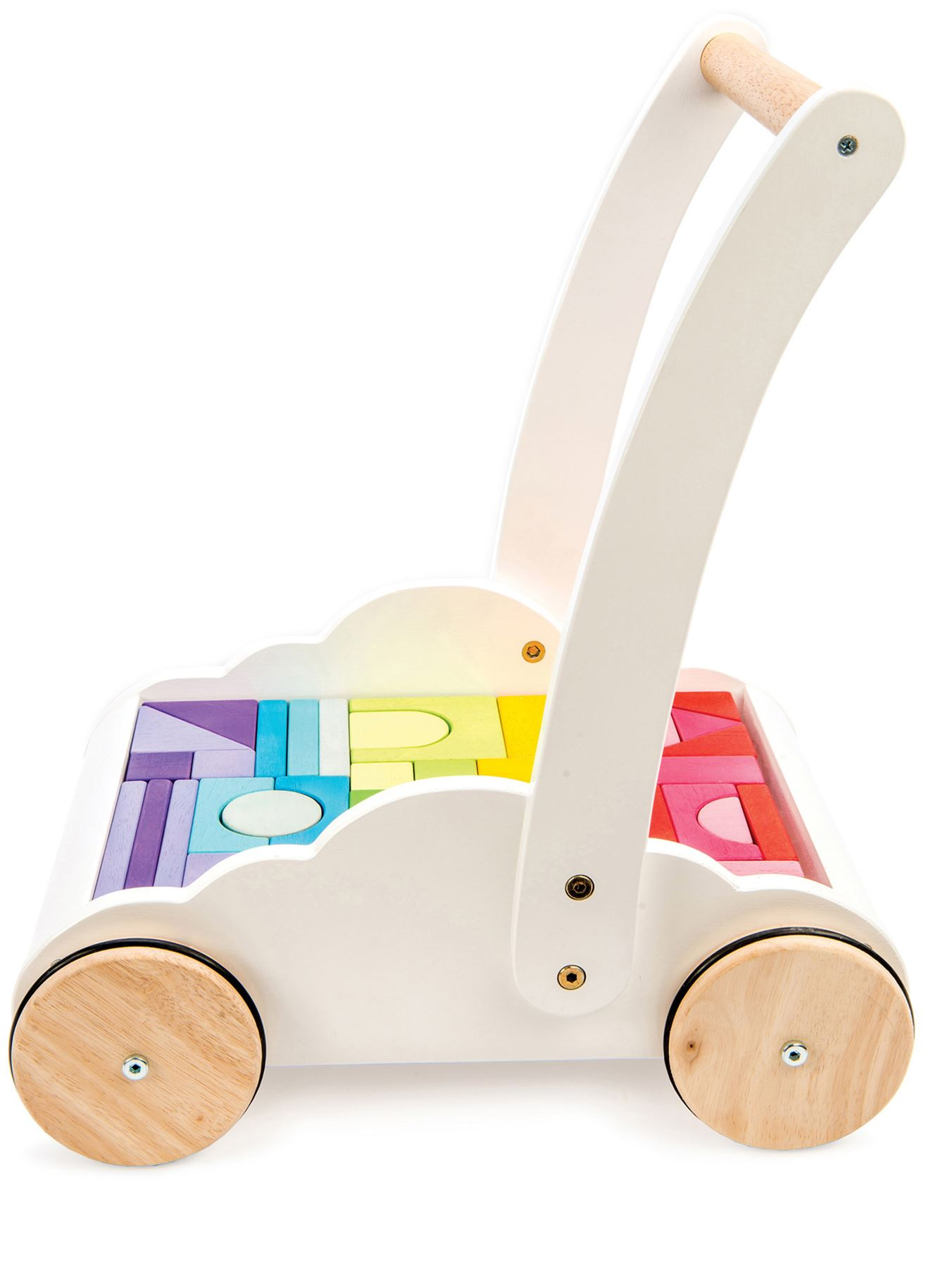Le Toy Van Petilou BABY RAINBOW CLOUD WALKER Wooden Toy | eBay