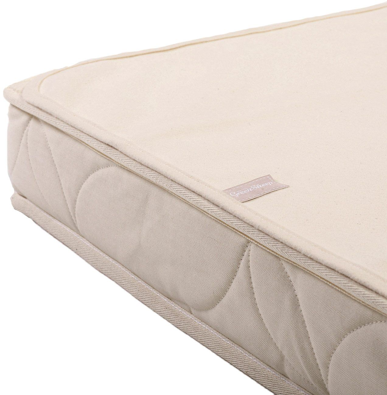 The Little Green Sheep Organic Waterproof Cot Bed Mattress Protector 70x140cm