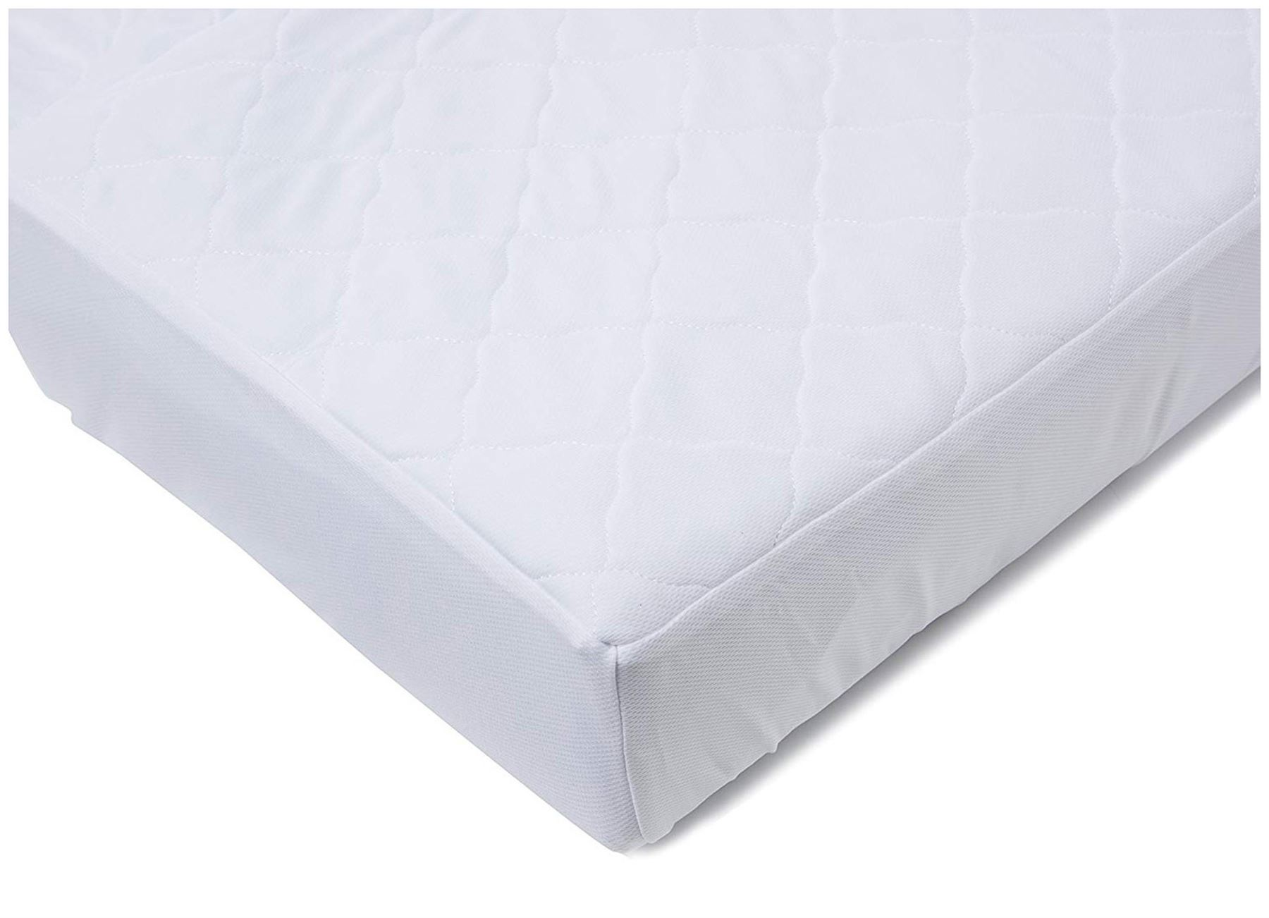 wholesale dealer cab87 07dab Details about Breathable Baby 3 IN 1 MATTRESS PROTECTOR - COT BED Baby  Child Waterproof