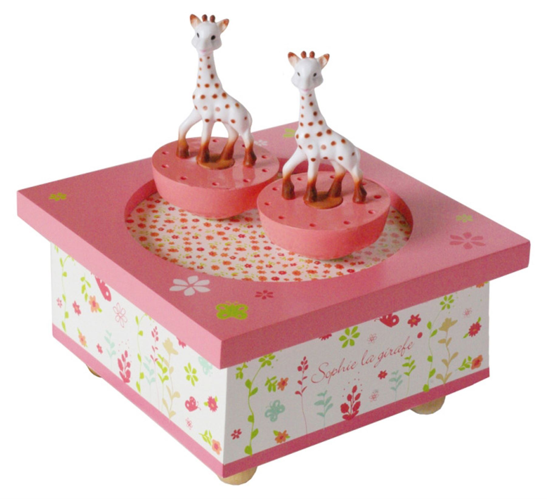 Christening & Gifts Qualified Sophie The Giraffe Spinning Music Box Baby Bn Baby