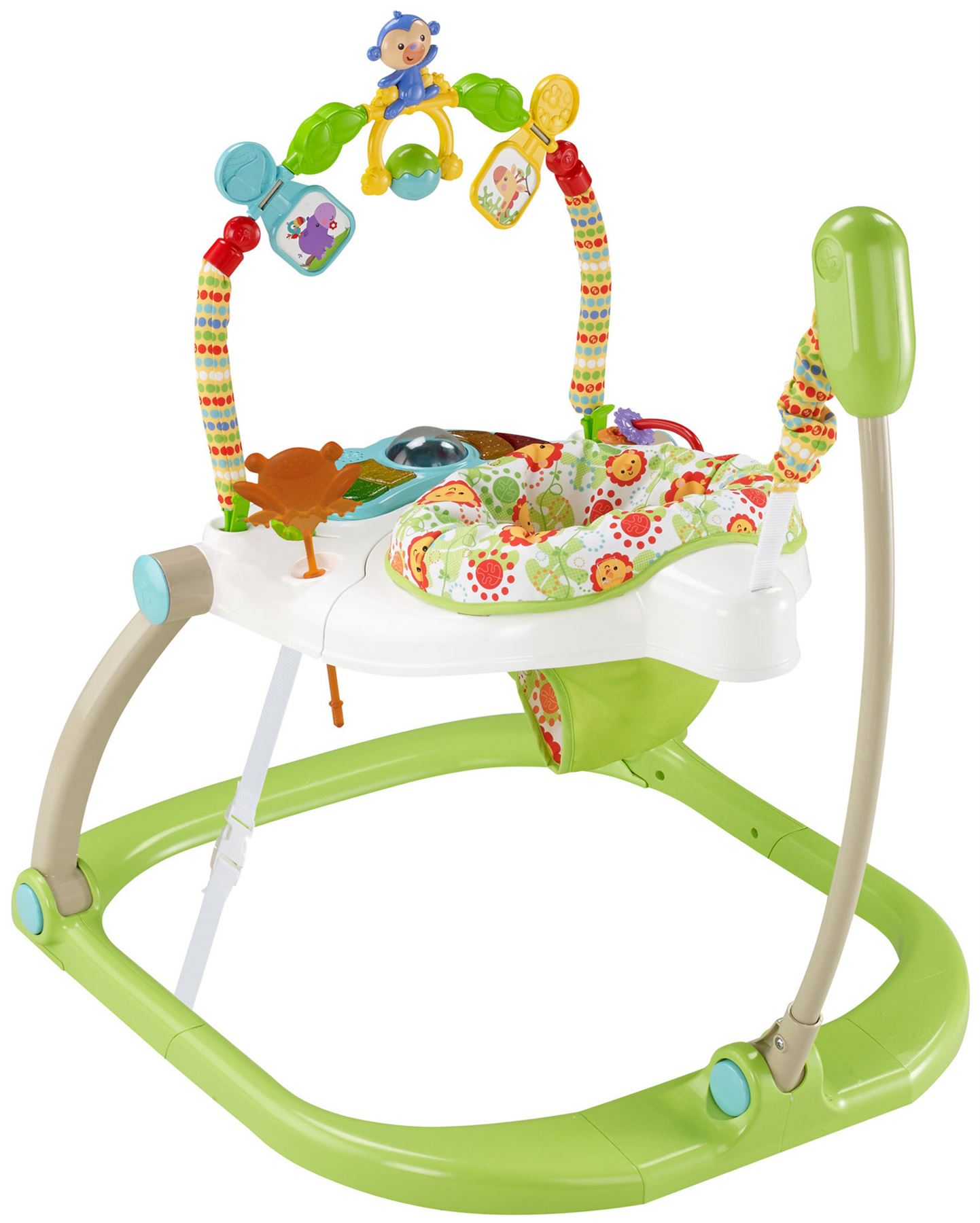481834e0ed83 Fisher Price FISHER-PRICE RAINFOREST SPACESAVER JUMPEROO ...