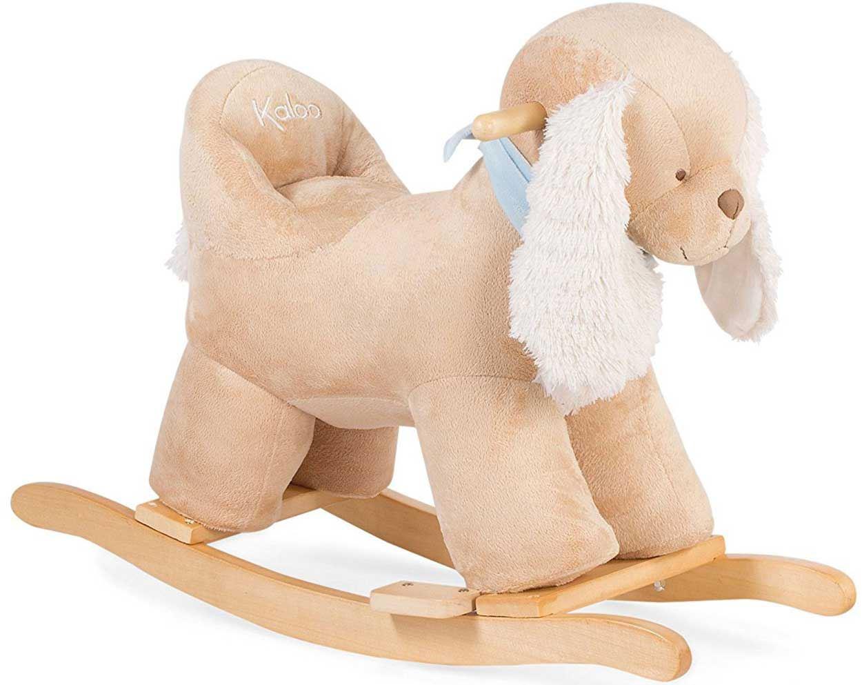 Kaloo-LES-AMIS-ROCKING-HORSE-Rocker-Dog-Donkey-Baby-Toddler-Plush-Toy-Gift-BNIB