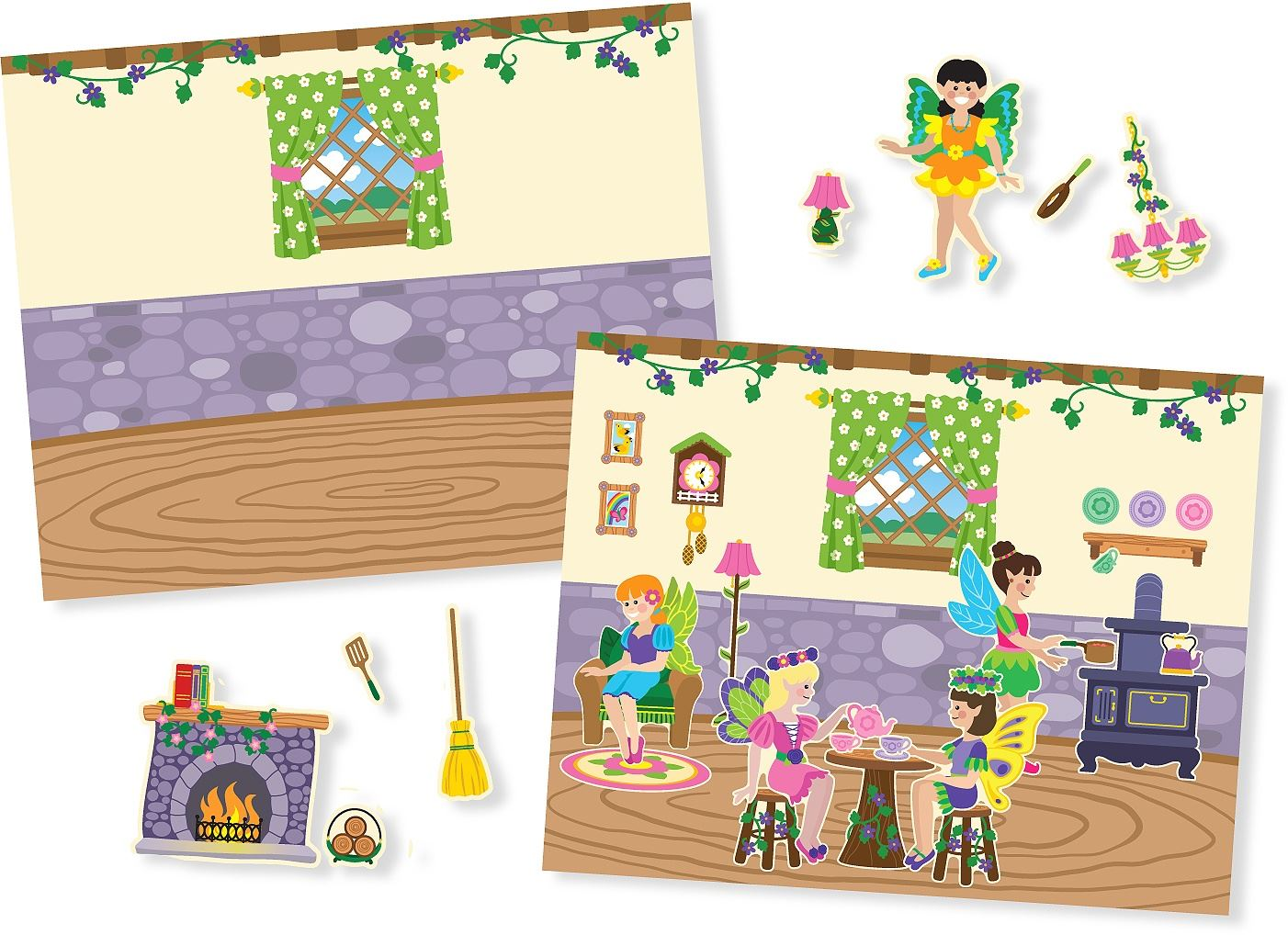 Melissa-amp-Doug-ALBUM-ADESIVI-RIUTILIZZABILI-Sticker-Libro-Bambino-Attivita-Nuovo miniatura 15