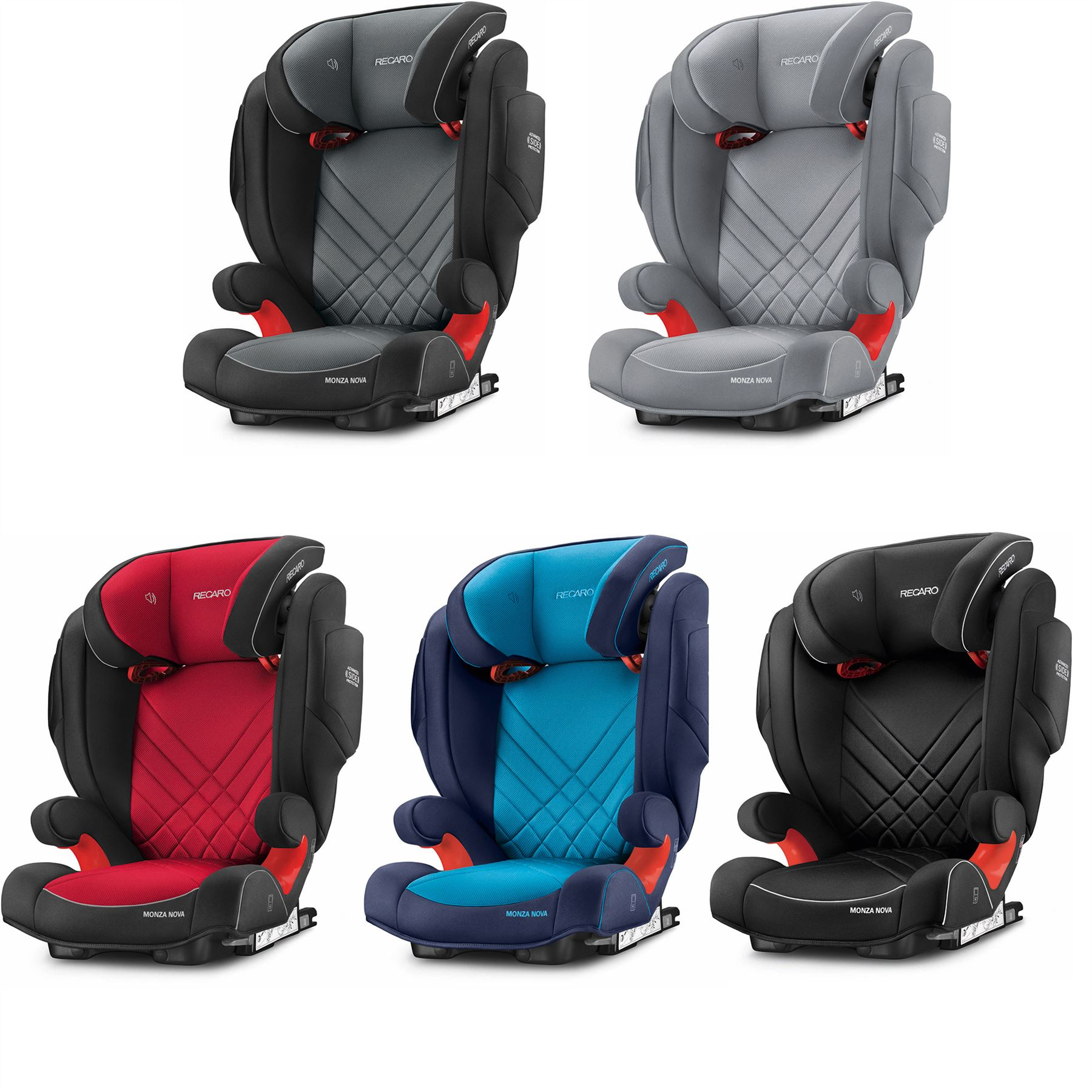 recaro monza nova 2 seatfix car seat group 23 baby travel. Black Bedroom Furniture Sets. Home Design Ideas