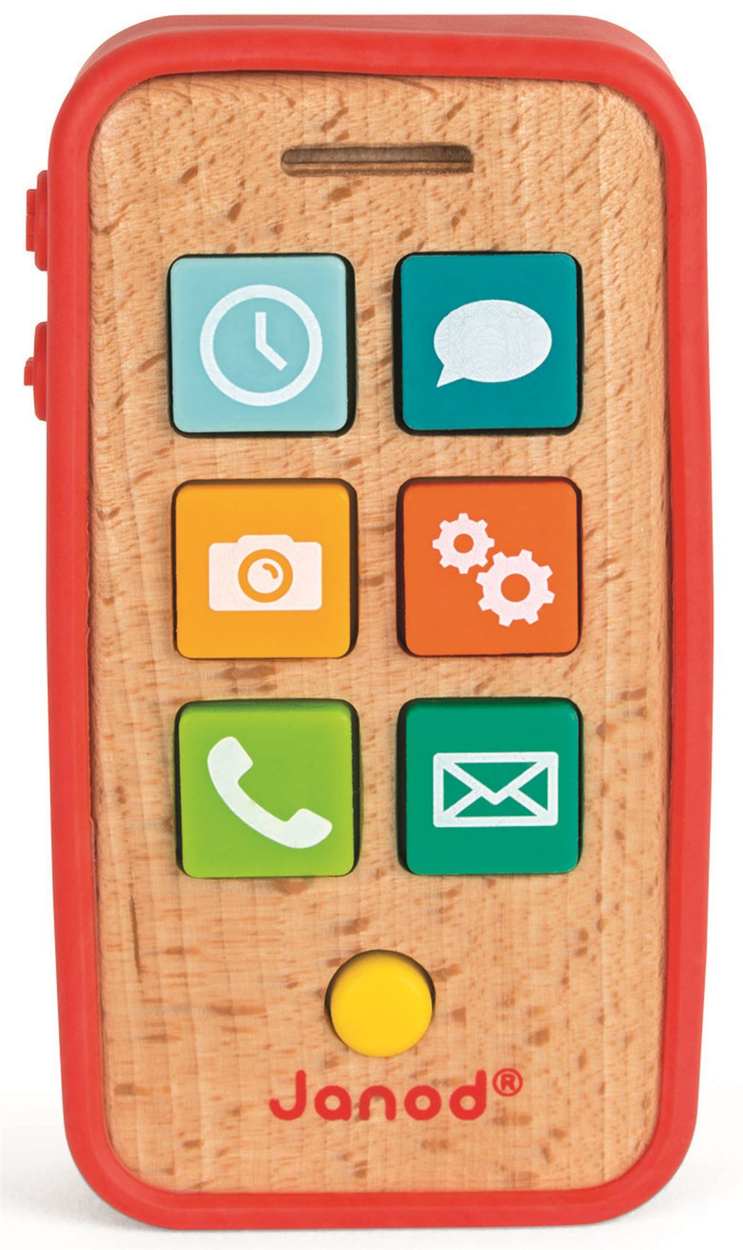 Janod PHONE Wooden Toys Games Preschool BN