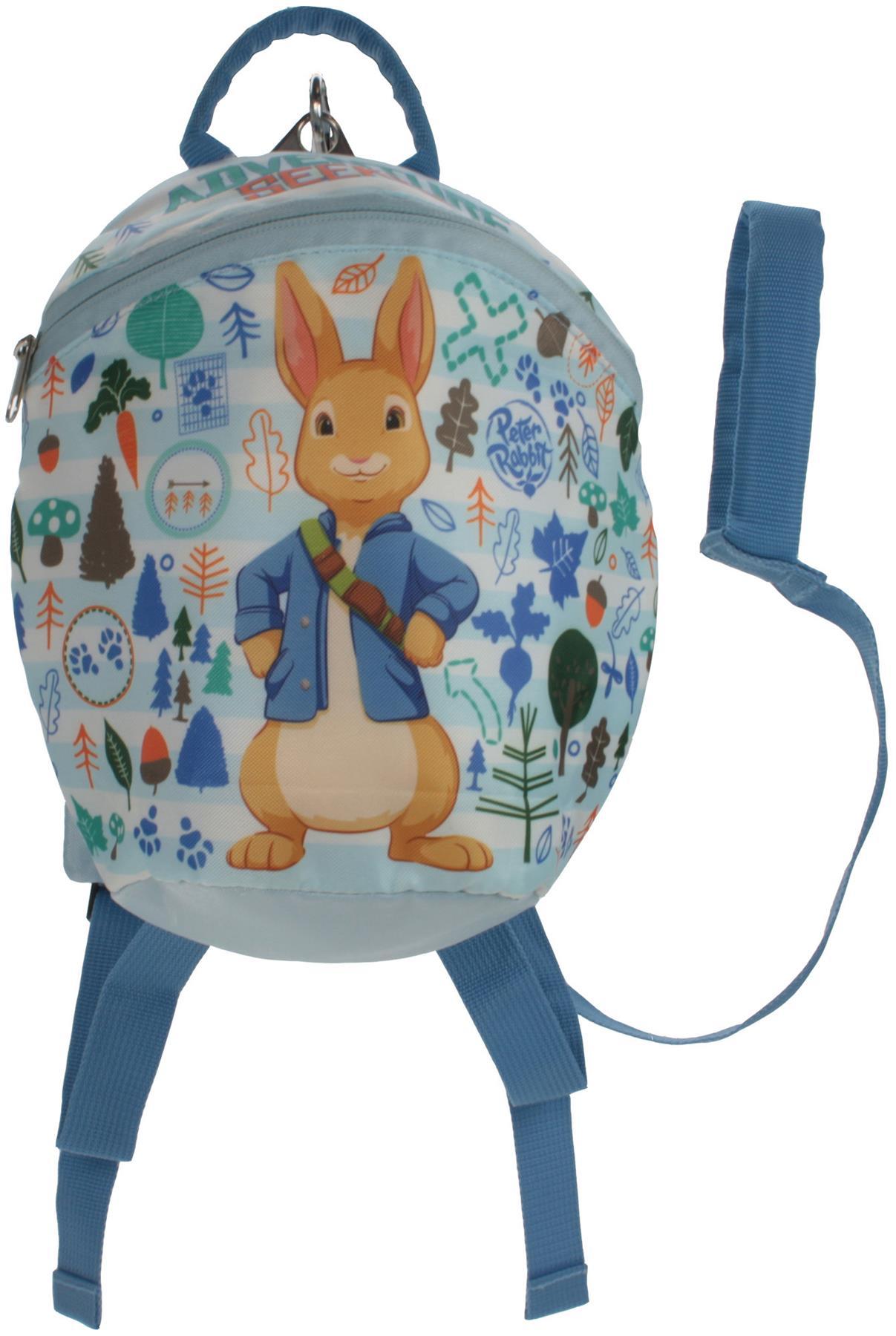 LIGHT BLUE Kids Bag BNIP Trade Mark Collections PETER RABBIT SATCHEL
