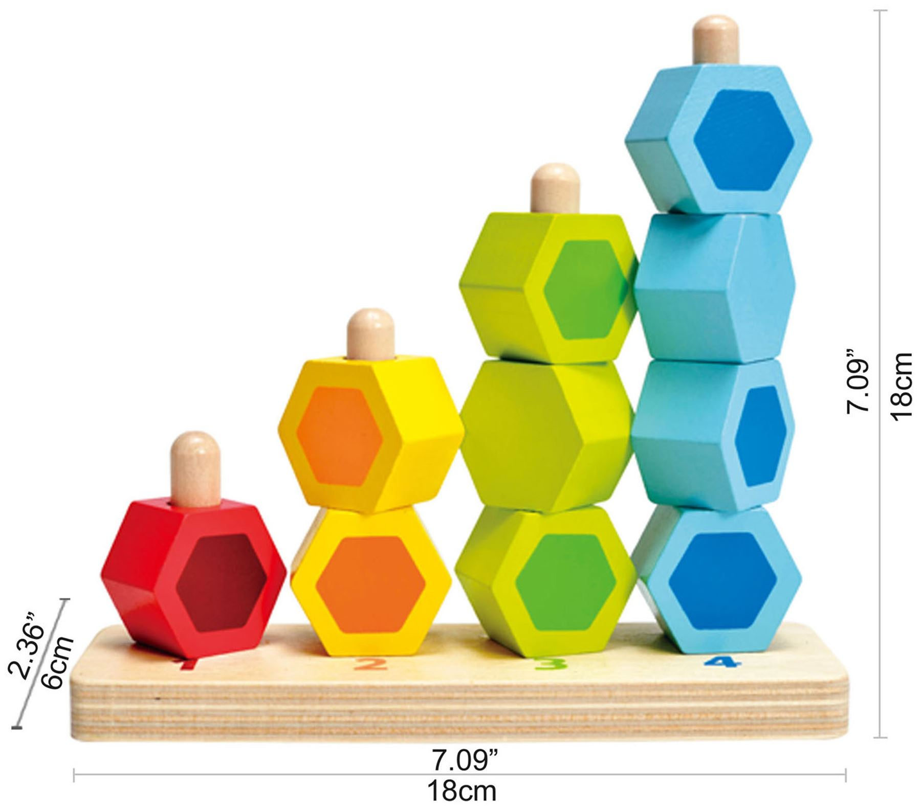 Montessori Finger Numbers Math Toy Children Counting Teaching L9W5 Aids Top Y4X7