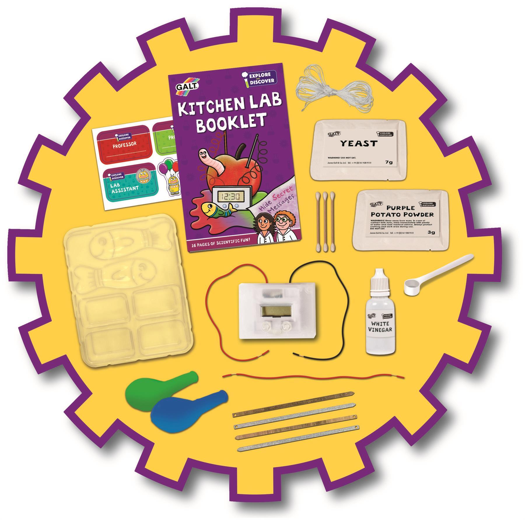 Galt Kitchen Lab Kids Educational Toy Baby Bn