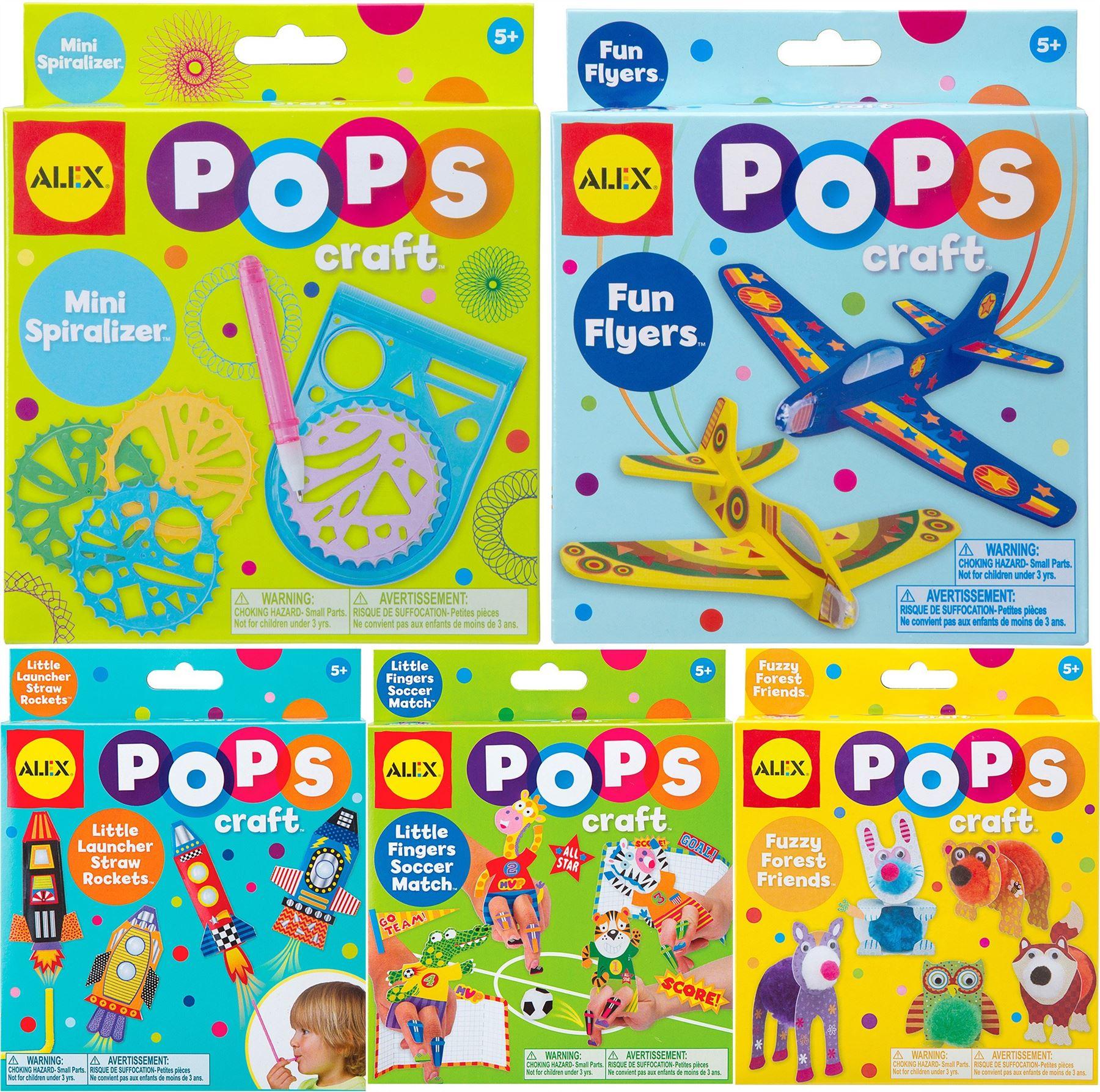 Alex Pops Bastelset Kreativ Kinder Basteln Spielzeug 5 Jahre Neu