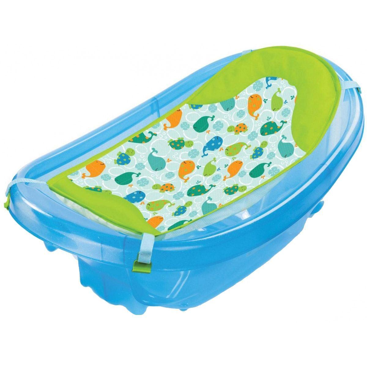 Summer Infant SPARKLE \'N\' SPLASH BATH TUB Baby Bathing Newborn To ...