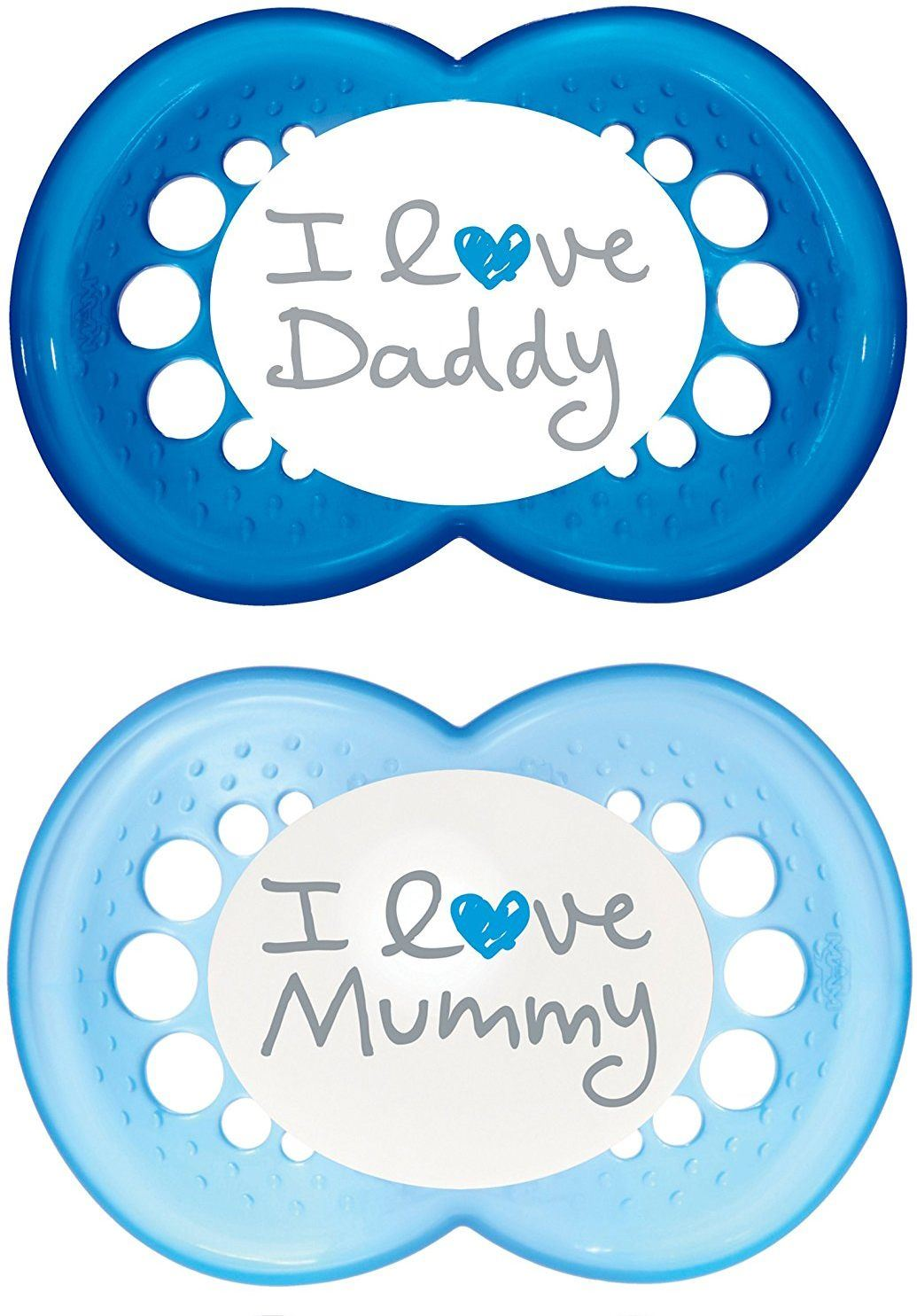 MAM-STYLE-SOOTHER-6-MONTHS-2-PACK-Baby-Toddler-Soother-Dummy-Blue-Pink-BN