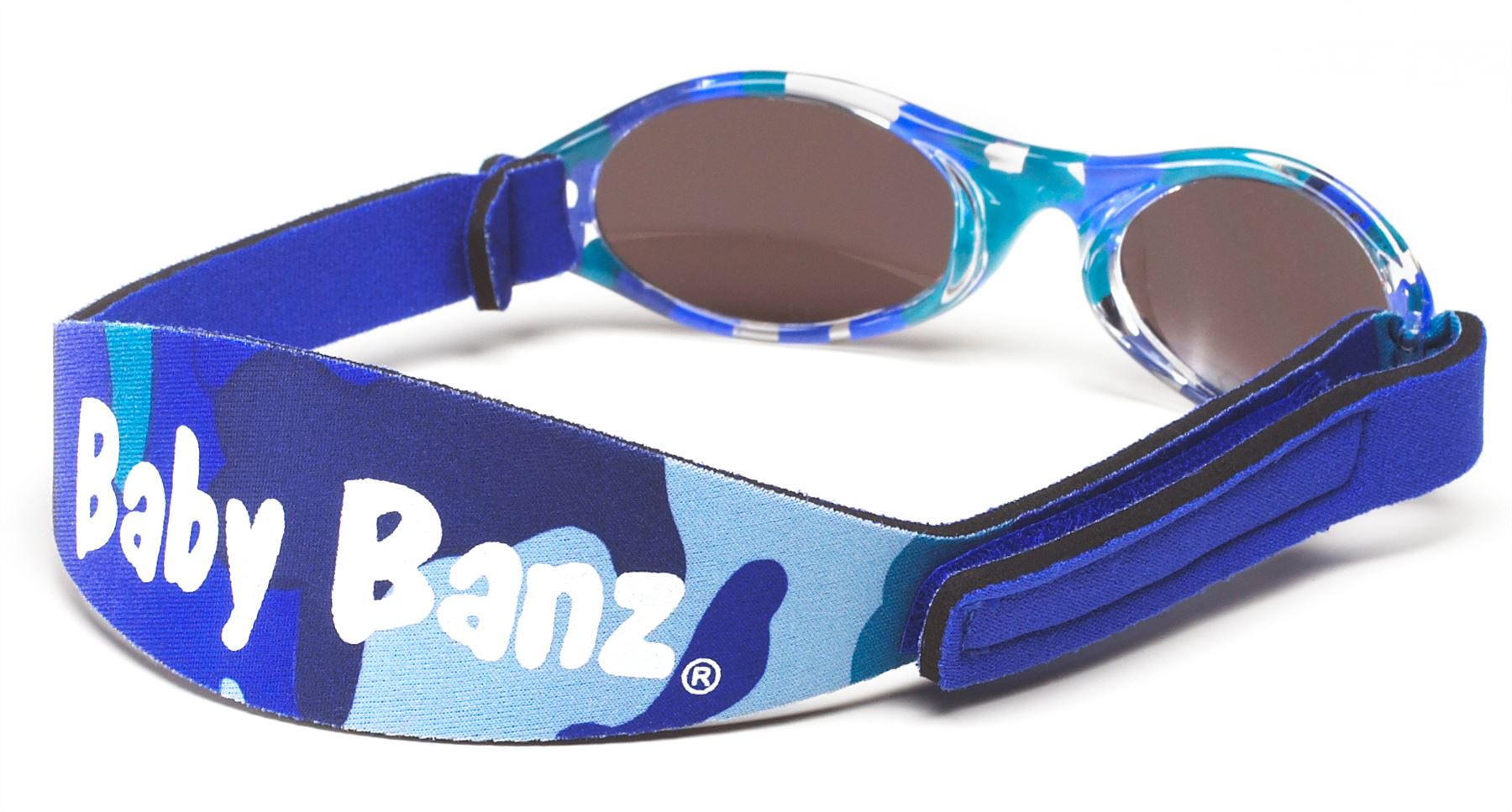 ae317e5385ae Baby Banz Sunglasses Nordic Camo Infants 0-2 Years 100 UV Protection EUC.  About this product. Stock photo  Picture 1 of 2  Picture 2 of 2