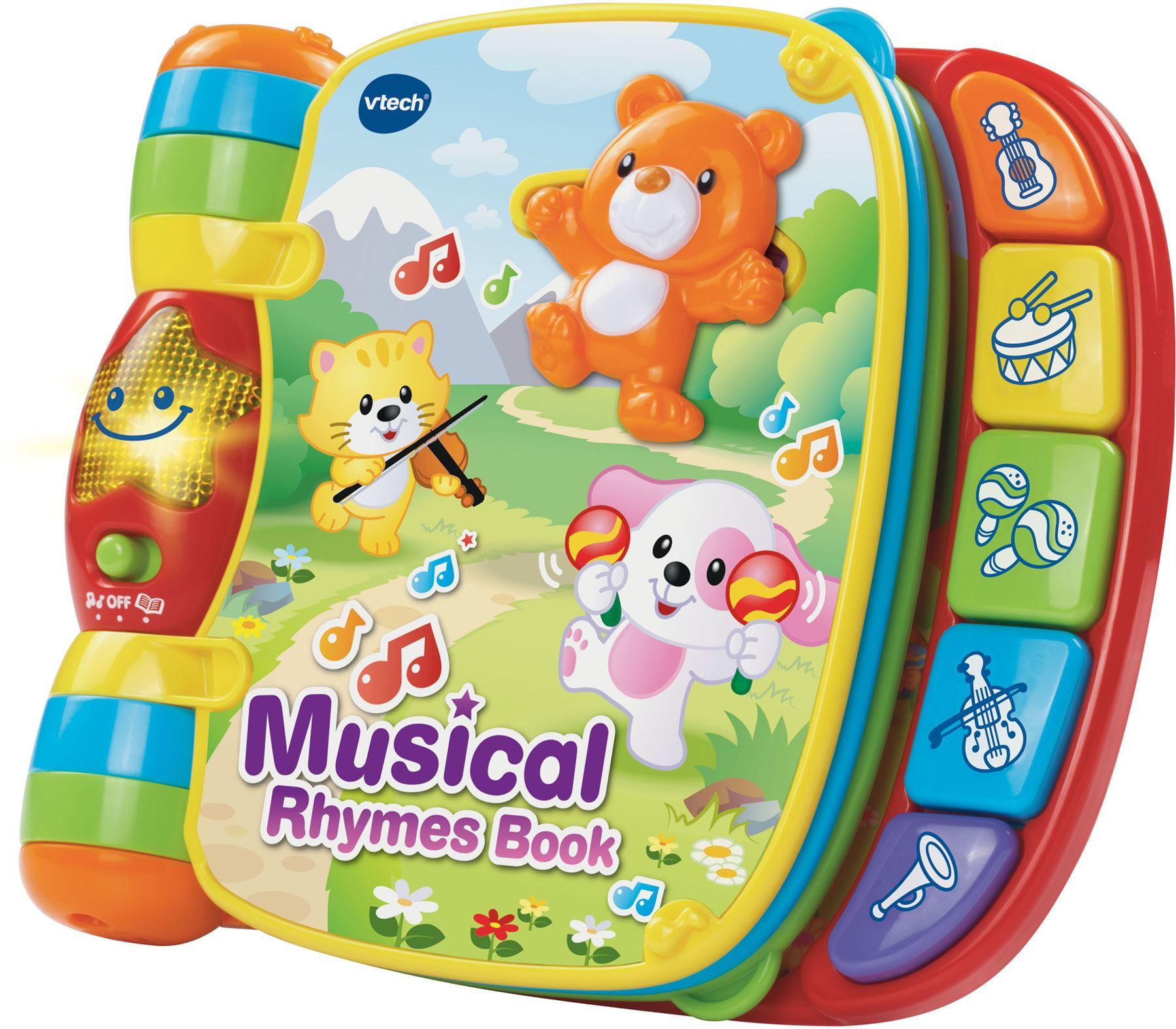 Details Sur Vtech Musical Rime Livre Bebe Enfant En Bas Age Debut Lecture Education Histoire