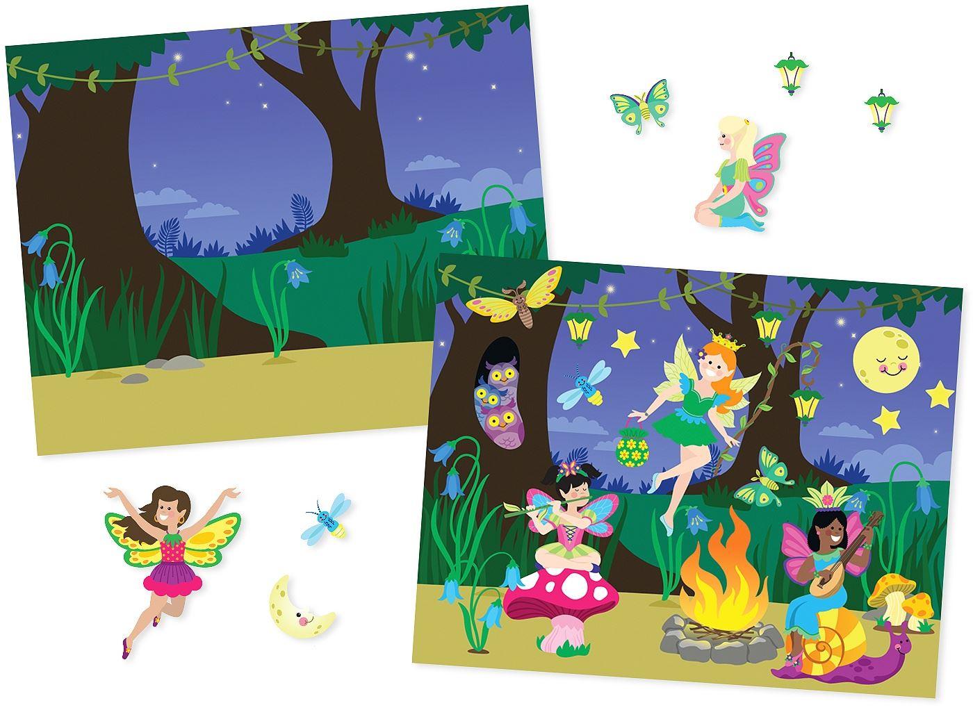 Melissa-amp-Doug-ALBUM-ADESIVI-RIUTILIZZABILI-Sticker-Libro-Bambino-Attivita-Nuovo miniatura 14