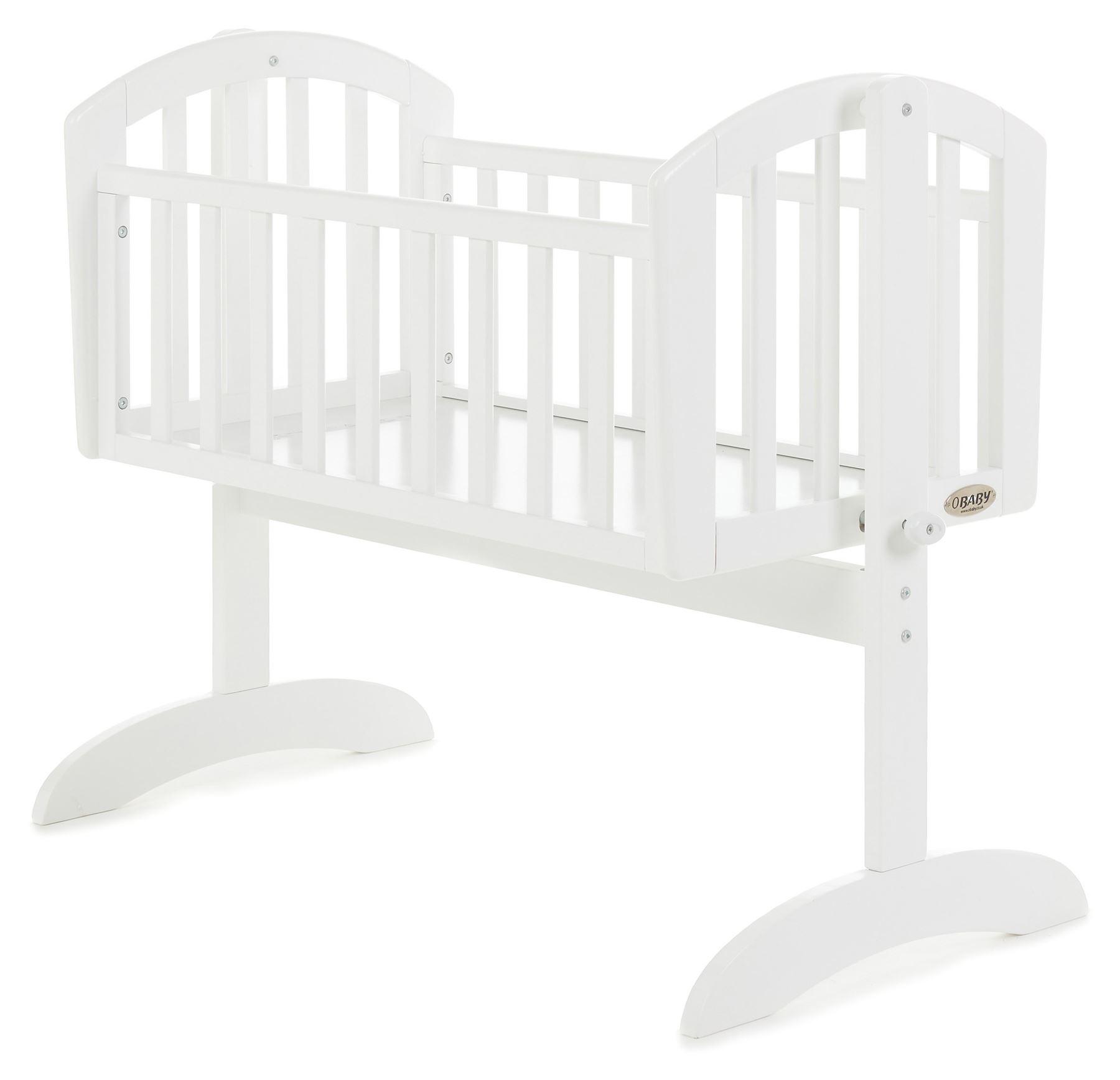 Obaby CRIB MATTRESS 85 X 43CM Obaby Baby//Newborn Bedding//Sleeping BN