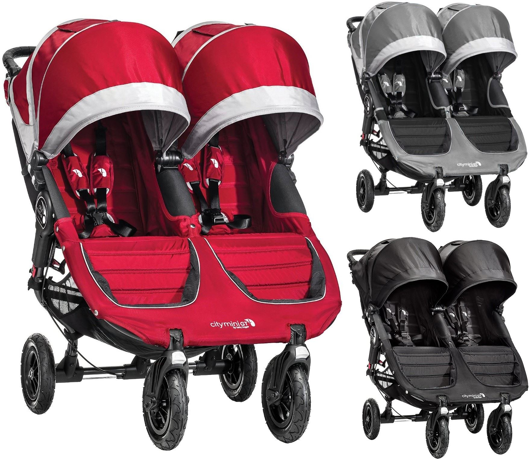 Details About Baby Jogger City Mini Gt Double Stroller Buggy Pushchair Baby Travel Bn