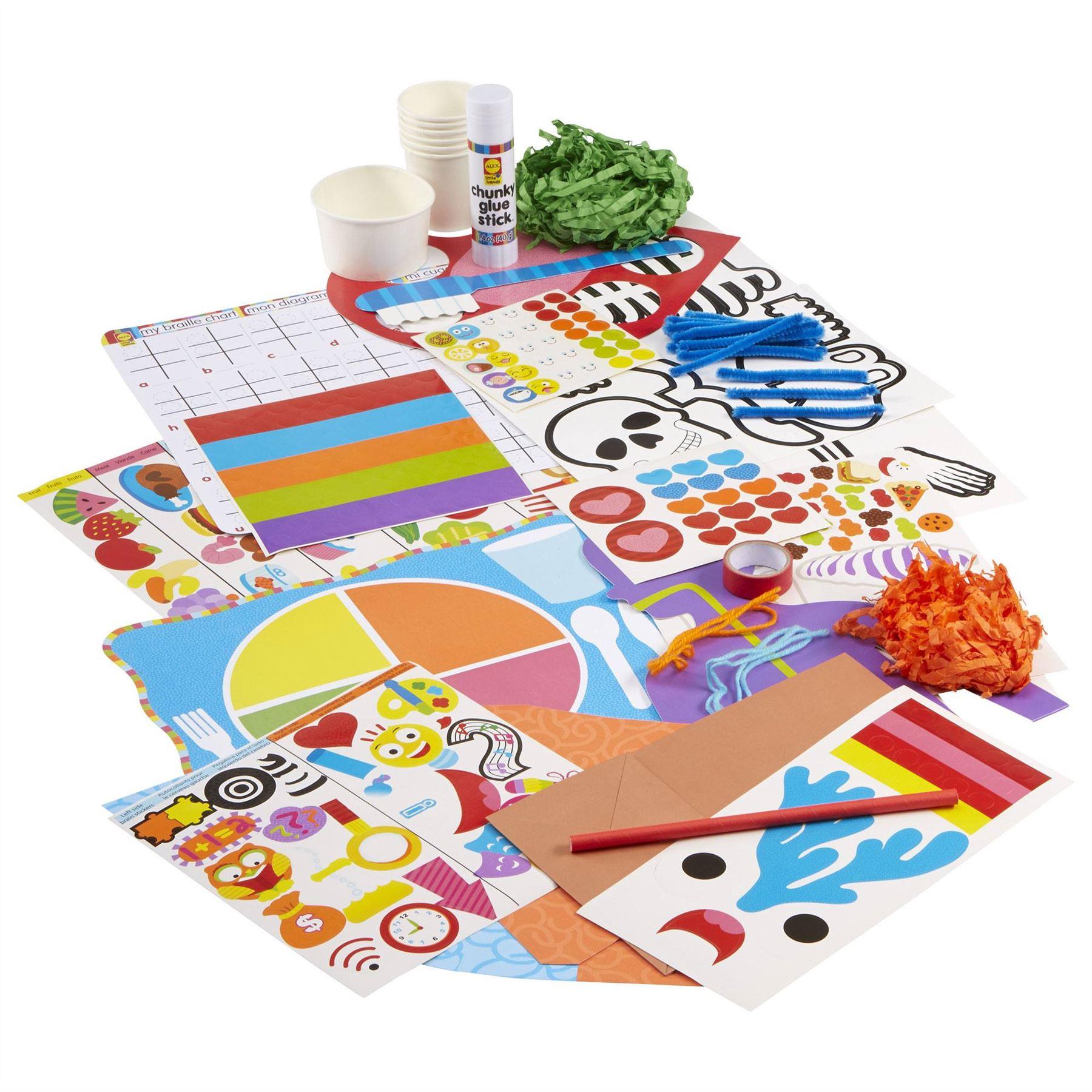 SET Alex Toys READY COUNT Child//Kids Craft Activity Set BN