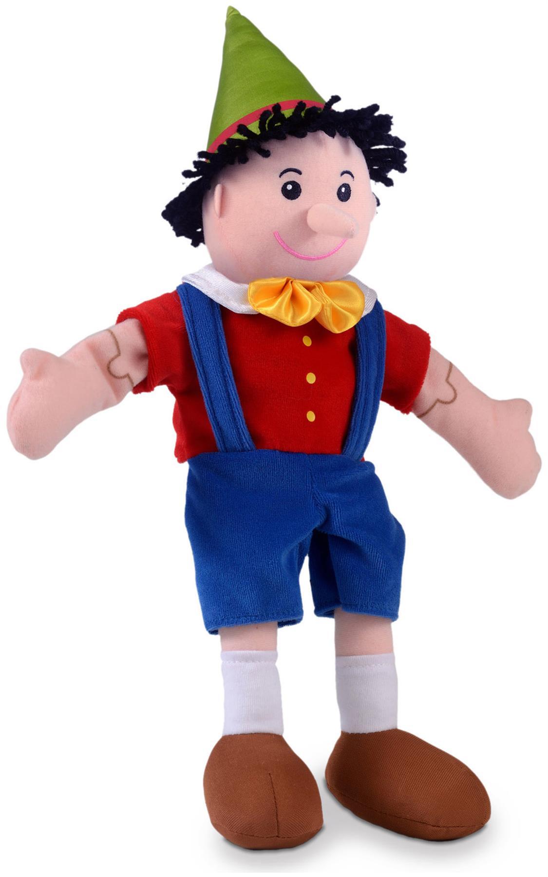 Fiesta Crafts GINGERBREAD MAN main et doigt marionnette Set Jouet Doux BN