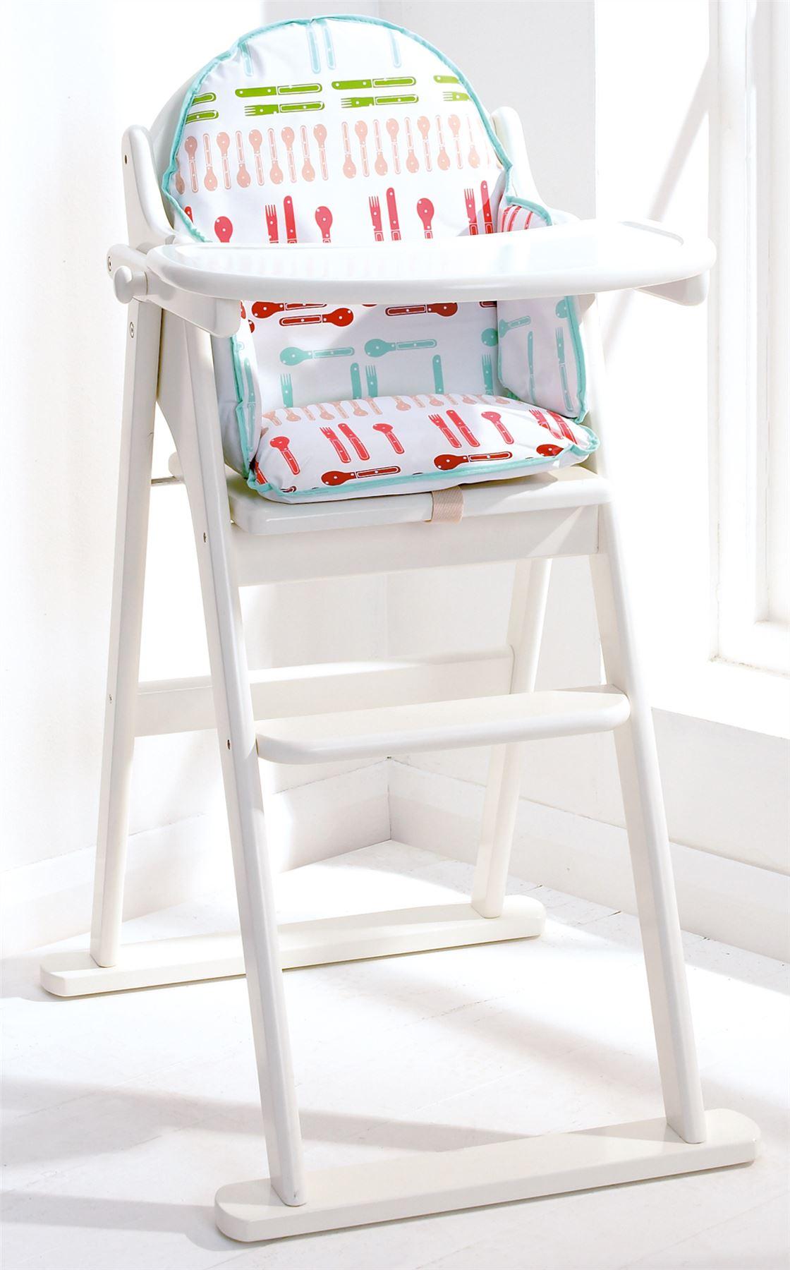 East coast silla alta plegable madera s lida ni o - Silla alta plegable ...