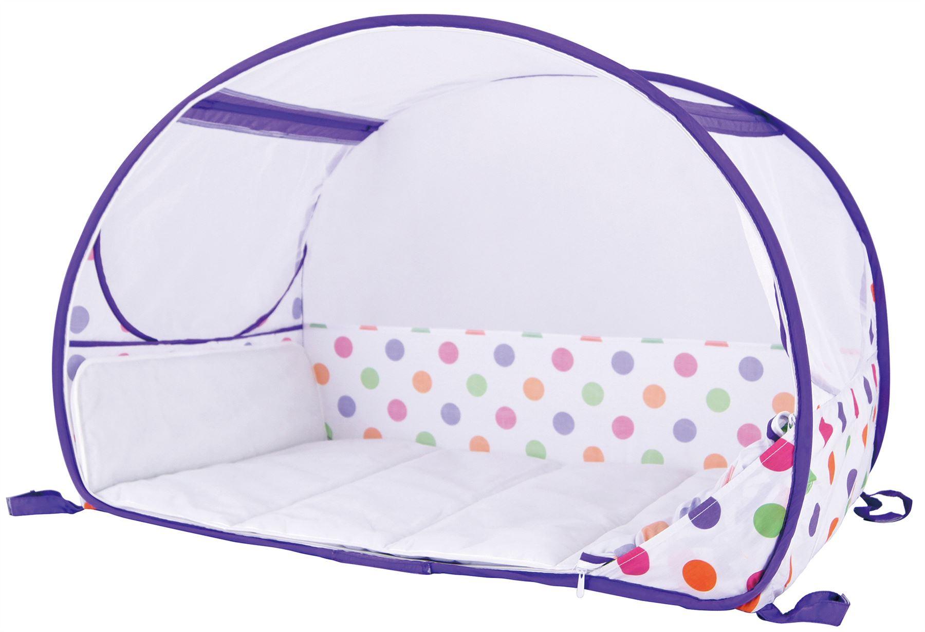 Koo-di-Pop-Up-Viaggio-Bolle-Culla-Bambino-Bambino-a-letto-accessorio-di-viaggio-BN