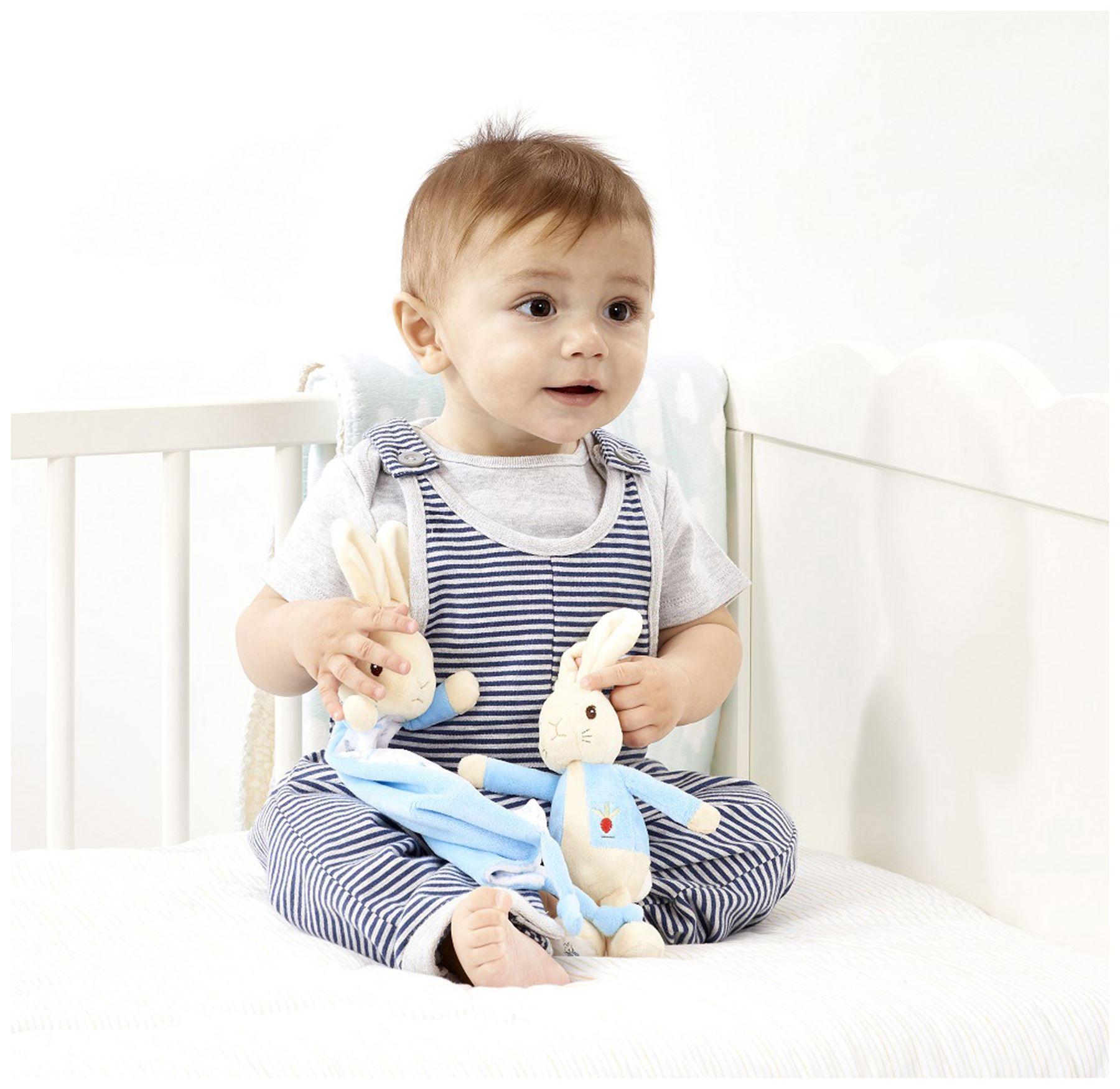 Rainbow Designs PETER RABBIT COMFORT BLANKET Baby Toys Activities BNIP