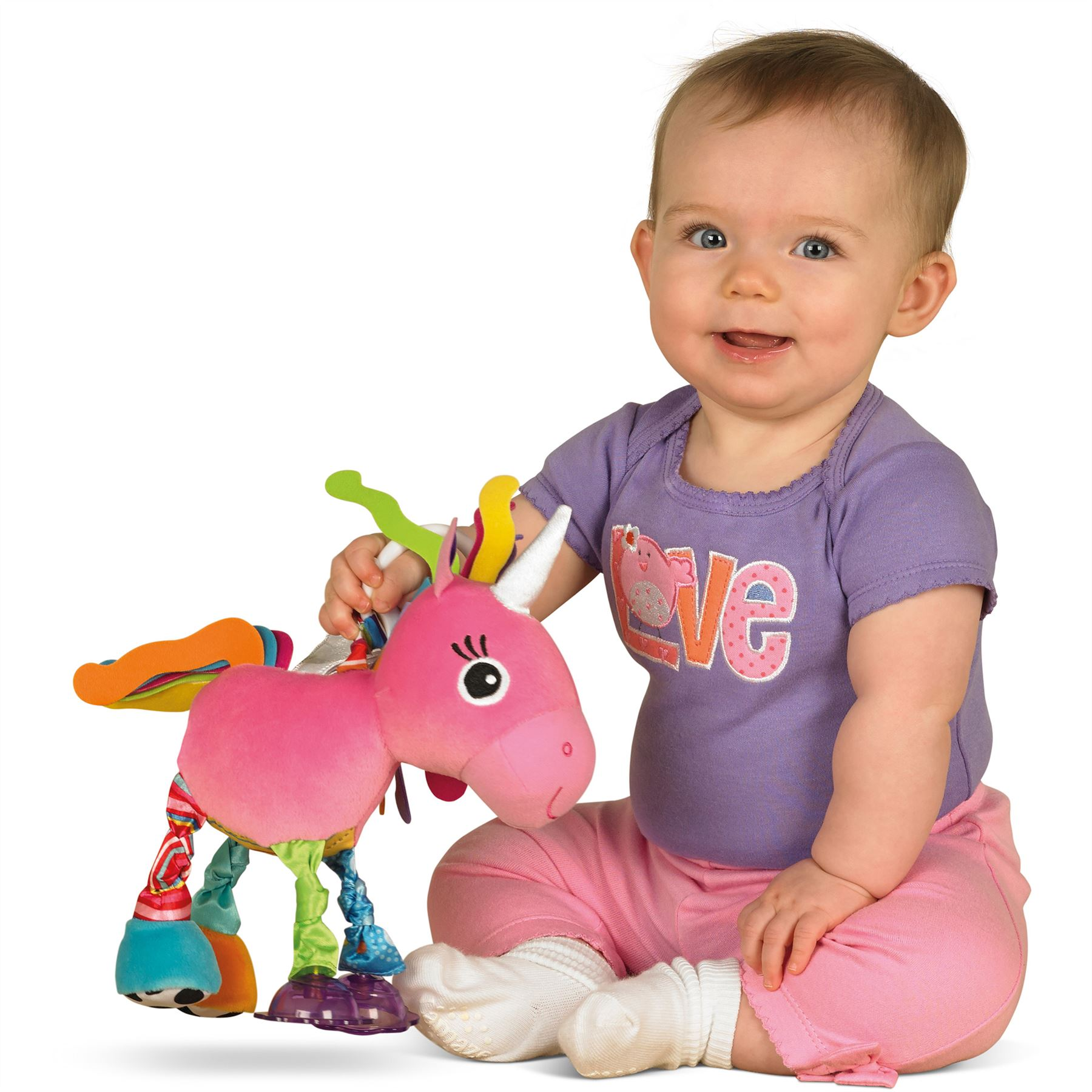 Lamaze PLAY & GROW TILLY TWINKLEWINGS Unicorn Soft Toy Baby