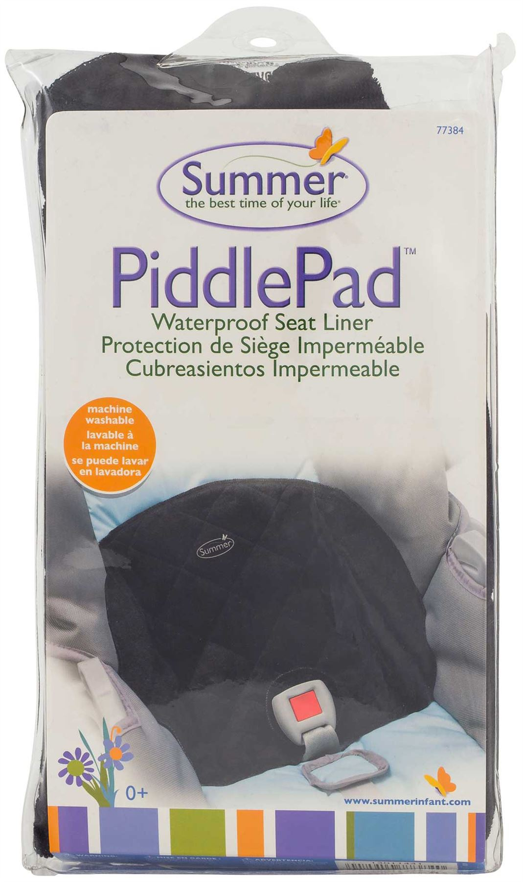 Summer Infant PIDDLEPAD BLACK Waterproof Car Seat Liner/Protector ...