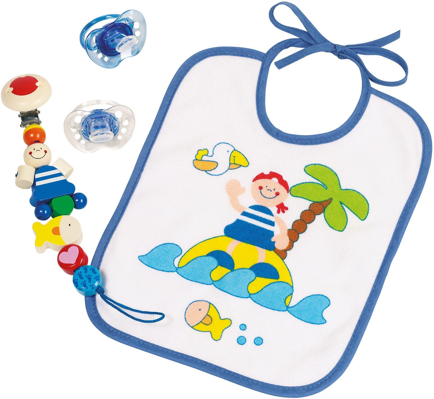 Heimess Dummy Chain Africa Baby//Nursery Wooden Pram Pacifier Toy Gift BNIP