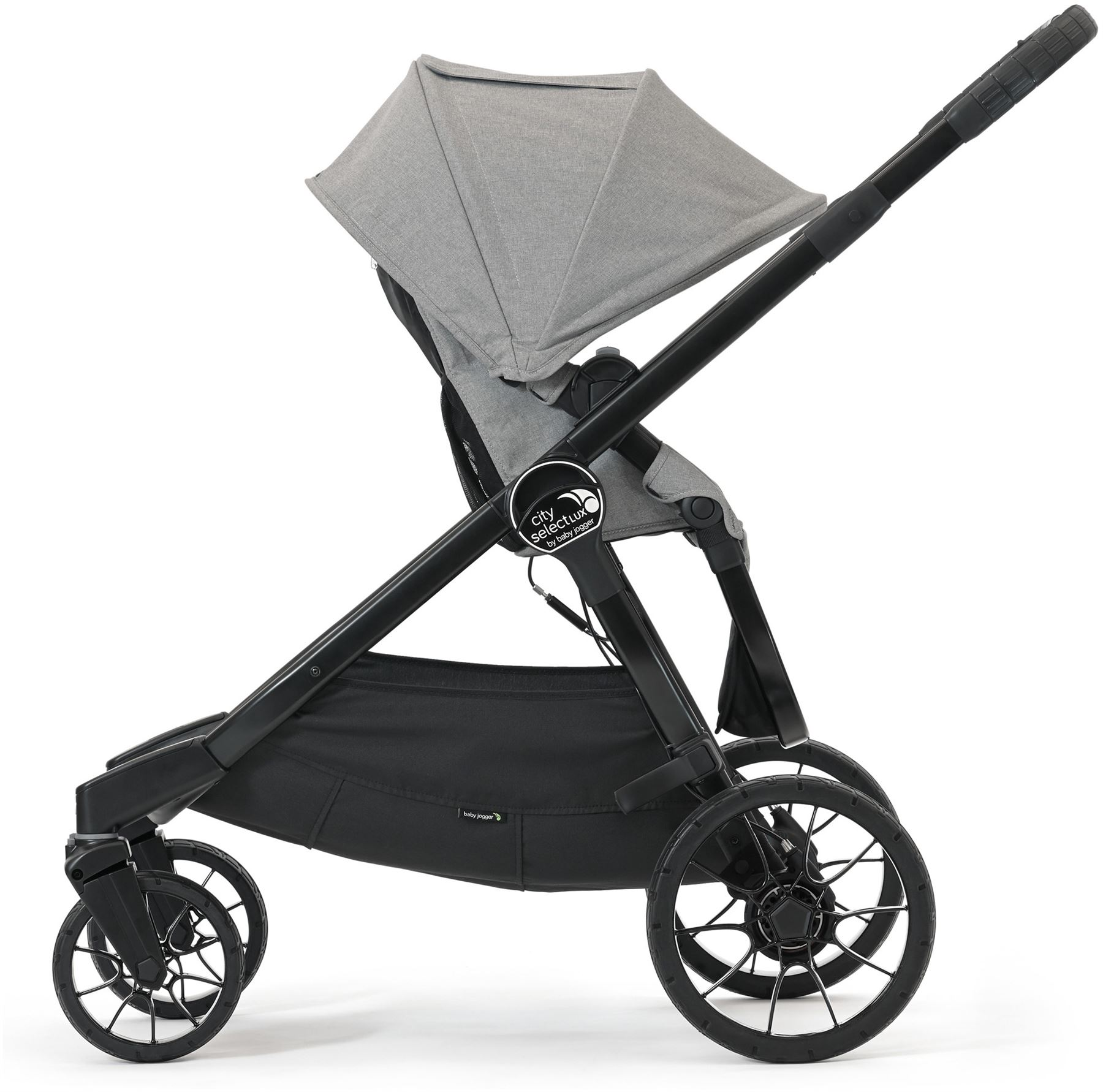 baby jogger city select lux einzelkinderwagen slate kinderwagen buggy neu ebay. Black Bedroom Furniture Sets. Home Design Ideas