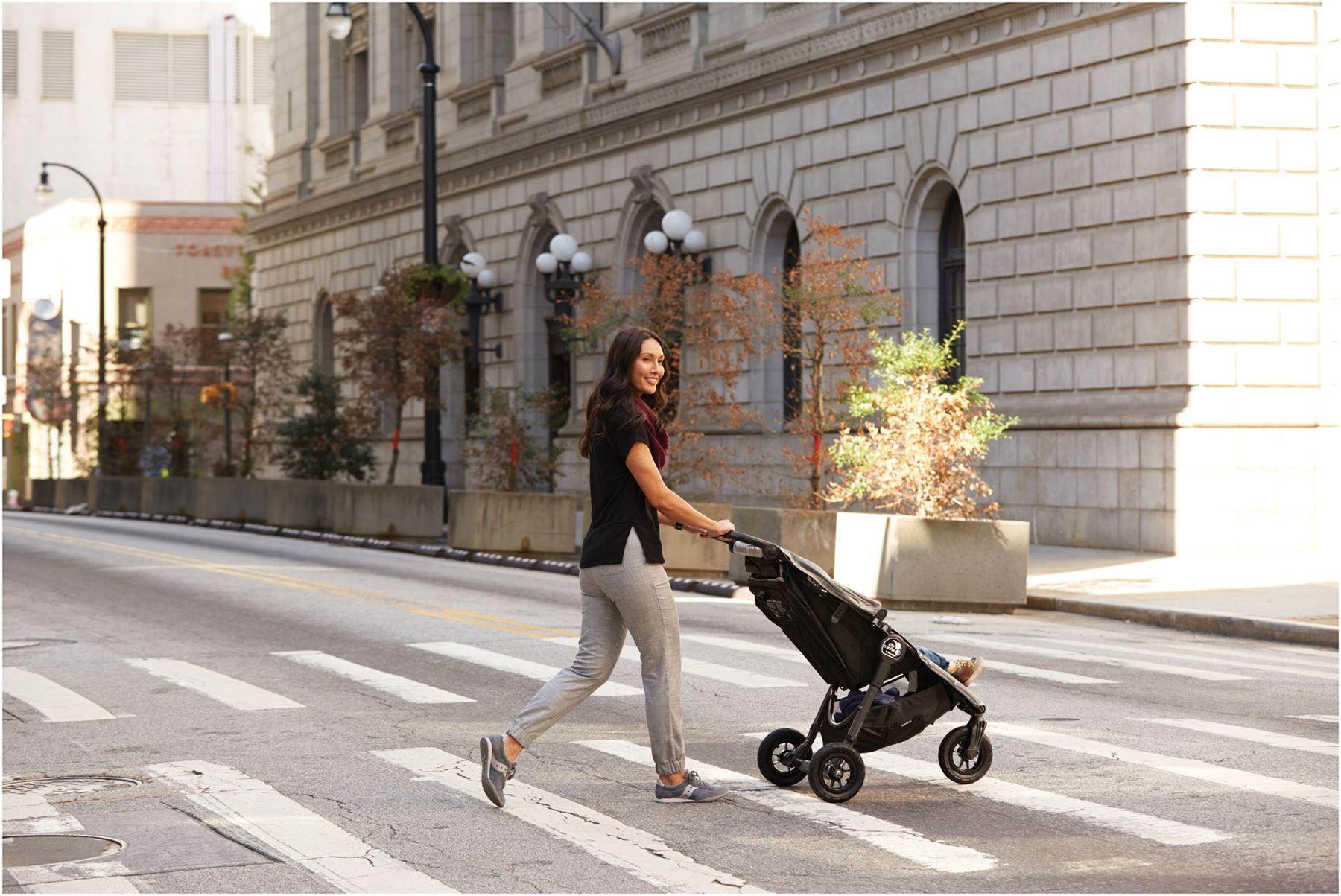 Baby Jogger CITY MINI GT SINGLE STROLLER STEEL GREY Pushchair Pram Buggy N 9