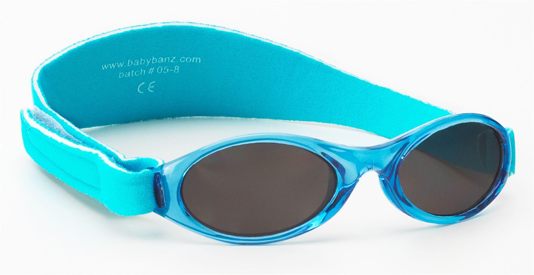 Baby Banz Adventurer Occhiali Da Sole Aqua 0-2yrs 100% Uva Uvb Protezione Solare Nuovo-mostra Il Titolo Originale