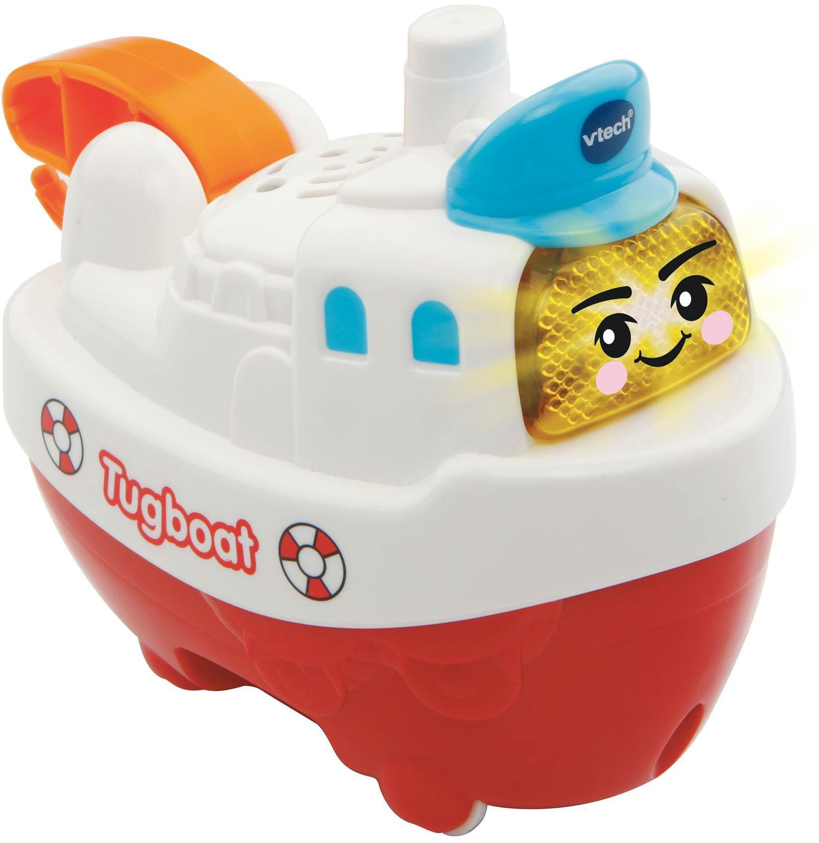 Vtech Baby Toot-Toot Splash Tugboat Interactive Light Sound Bath Toy ...
