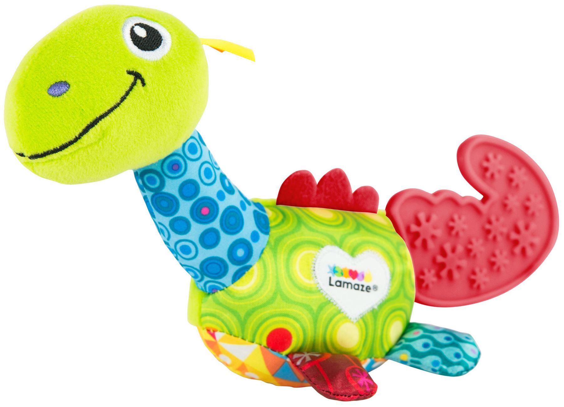 9e46d4cbe6c8 Lamaze MINI DINO TEETHER Baby Developmental Toy BNIP 796714276540