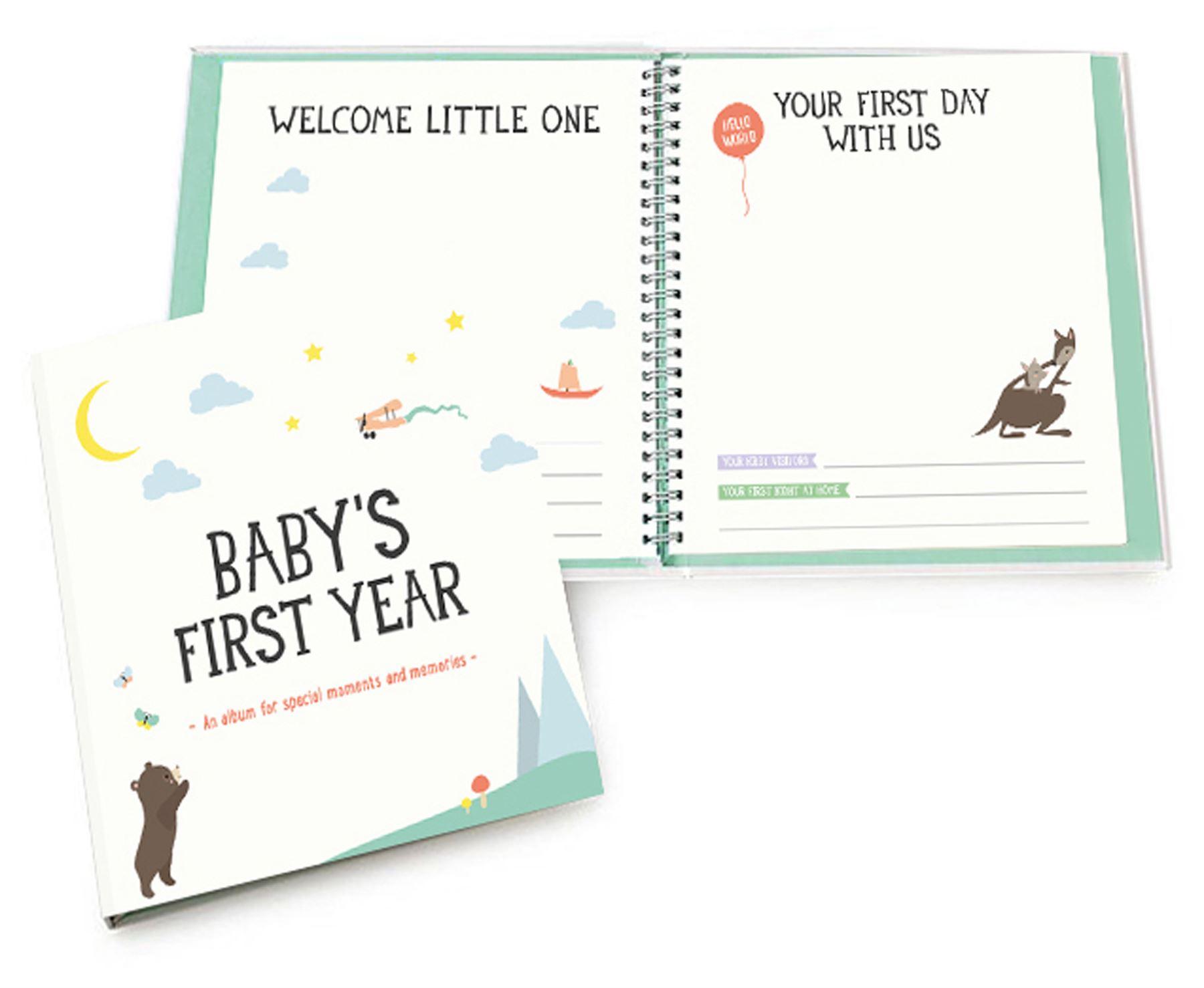 Milestone Babys Erster Special Moments Fotoalben & -boxen Urlaub Baby Neu