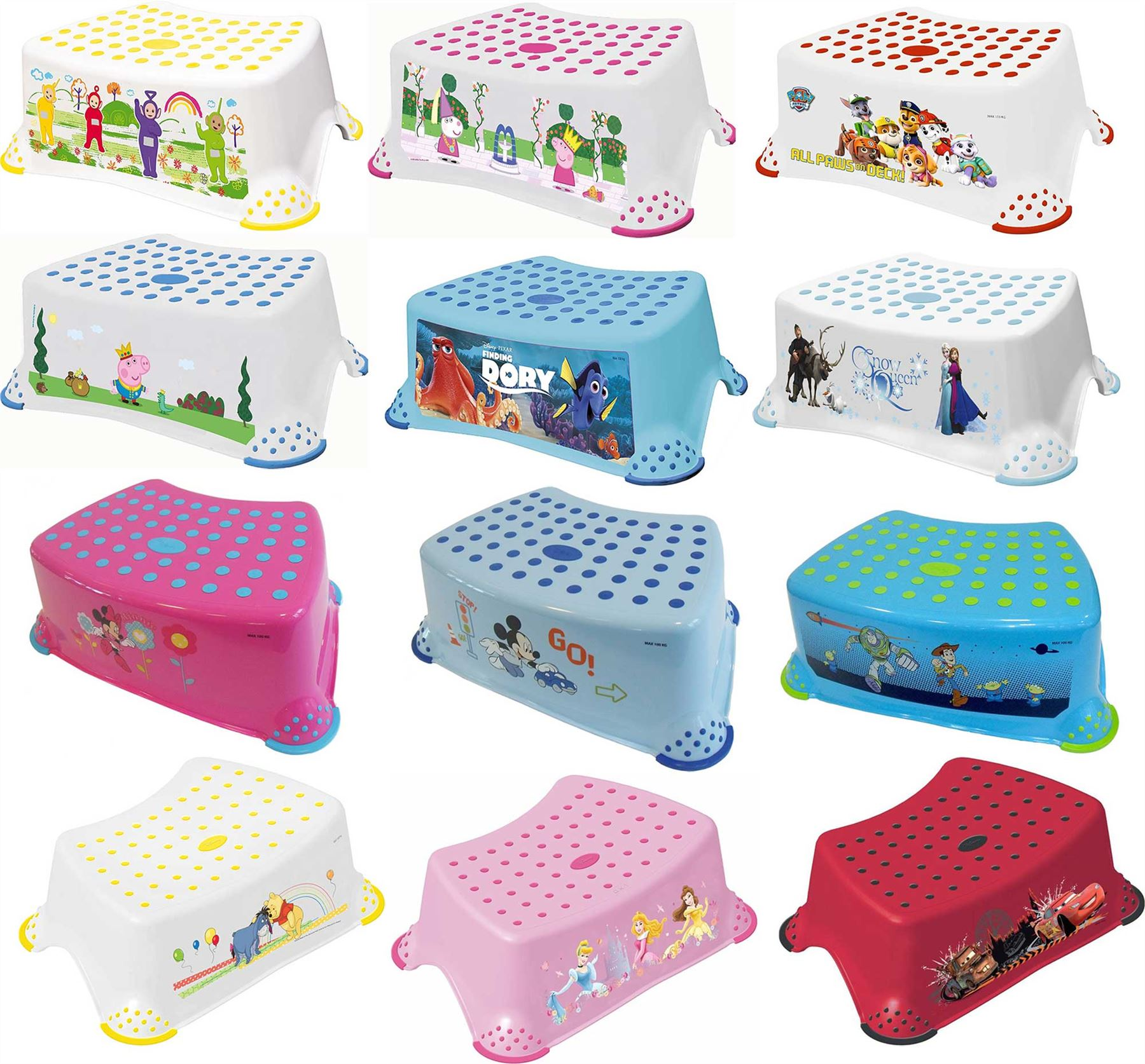 Solution Step Stool Disney Characters Baby Toddler Child