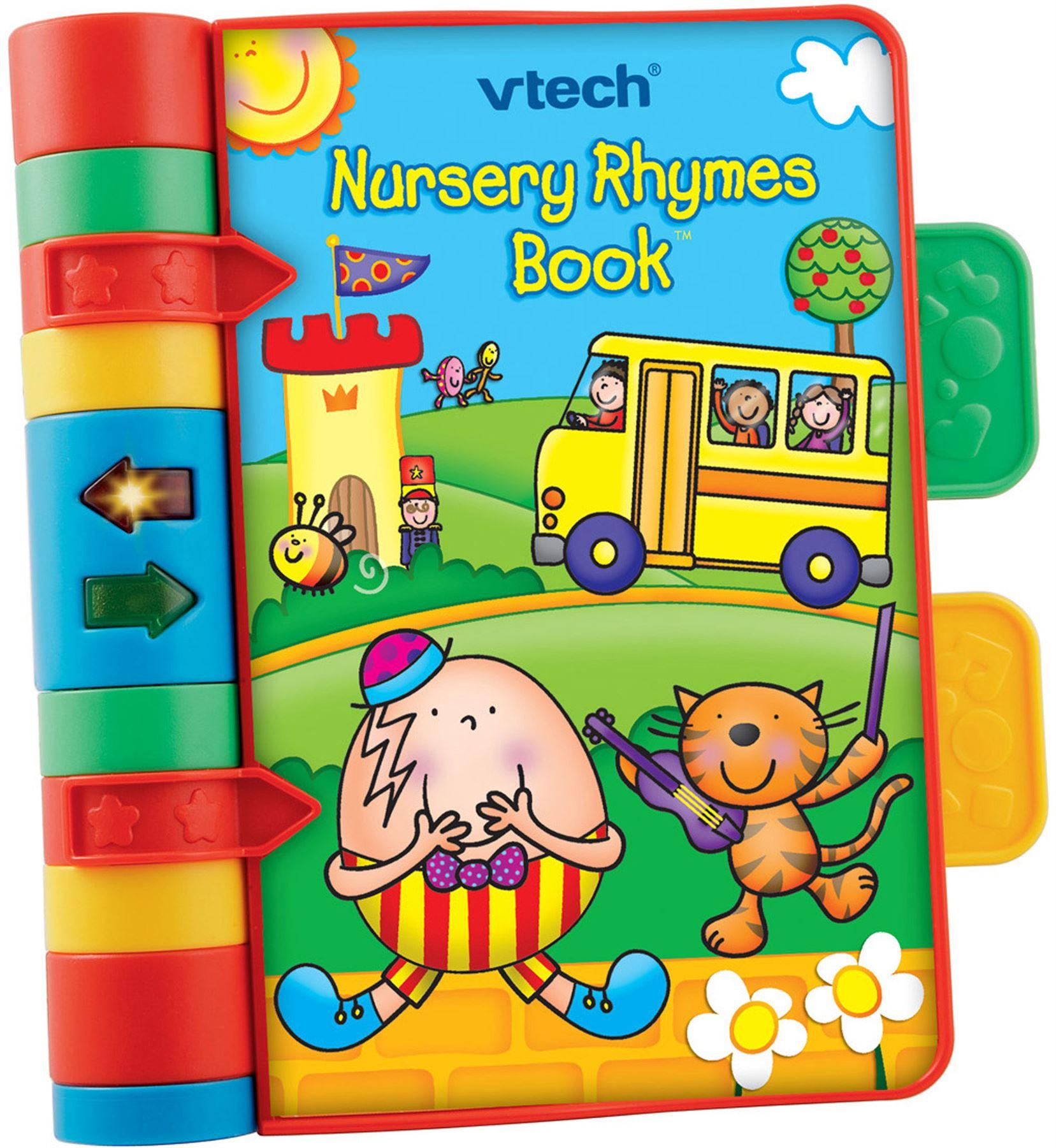 Details Sur Vtech Nursery Rhymes Livre Education Prescolaire Jeune Enfant Jouet Nouveau