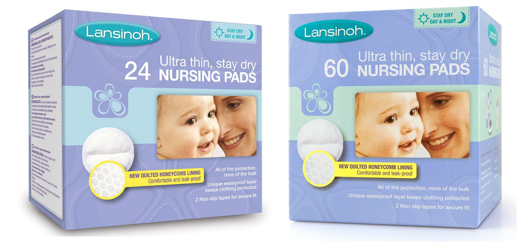 Pack of 60 BNIB Lansinoh Disposable Breast Pads
