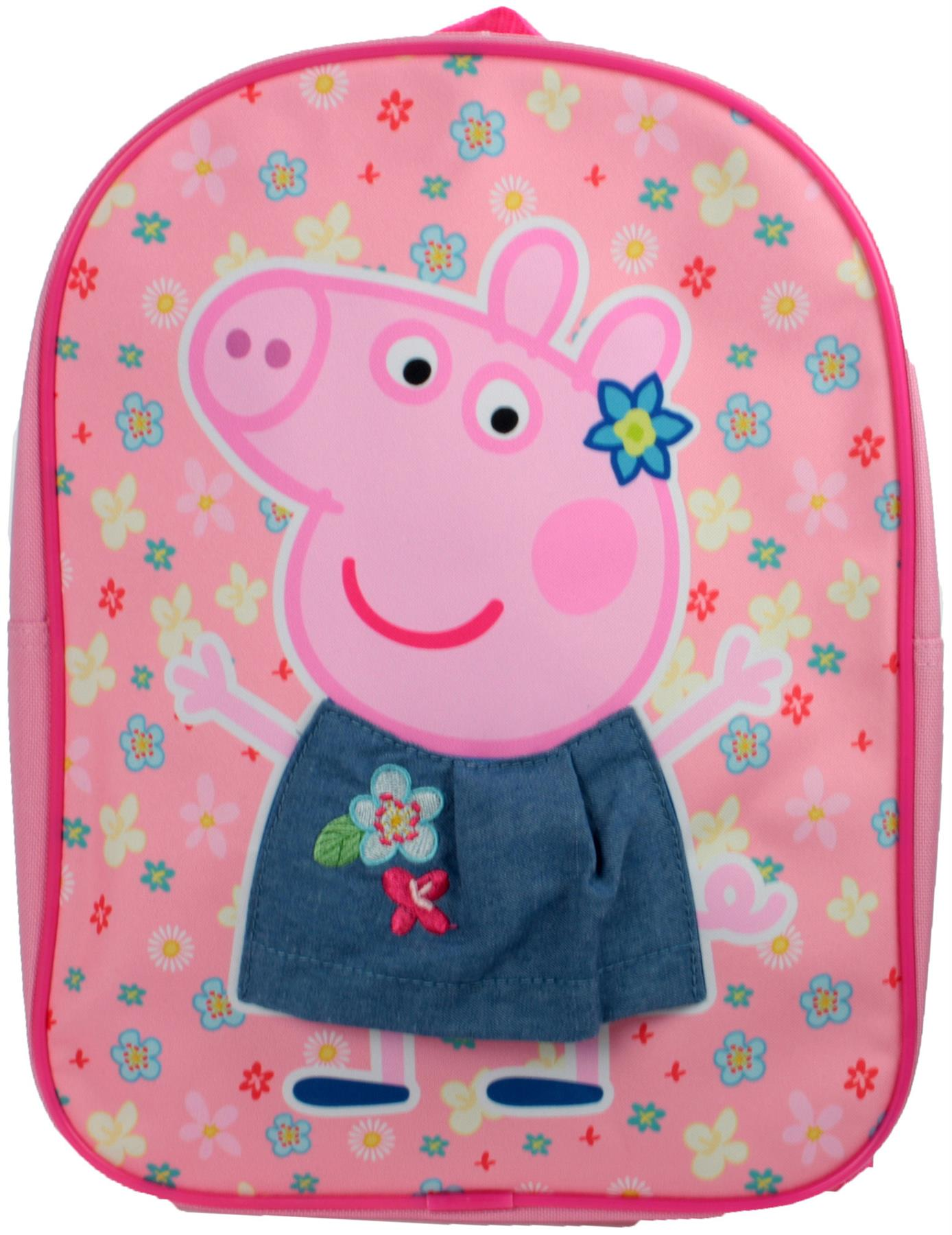PINK Kids Accessories Bag BNIP Trade Mark Collections PEPPA PIG EVA BACKPACK
