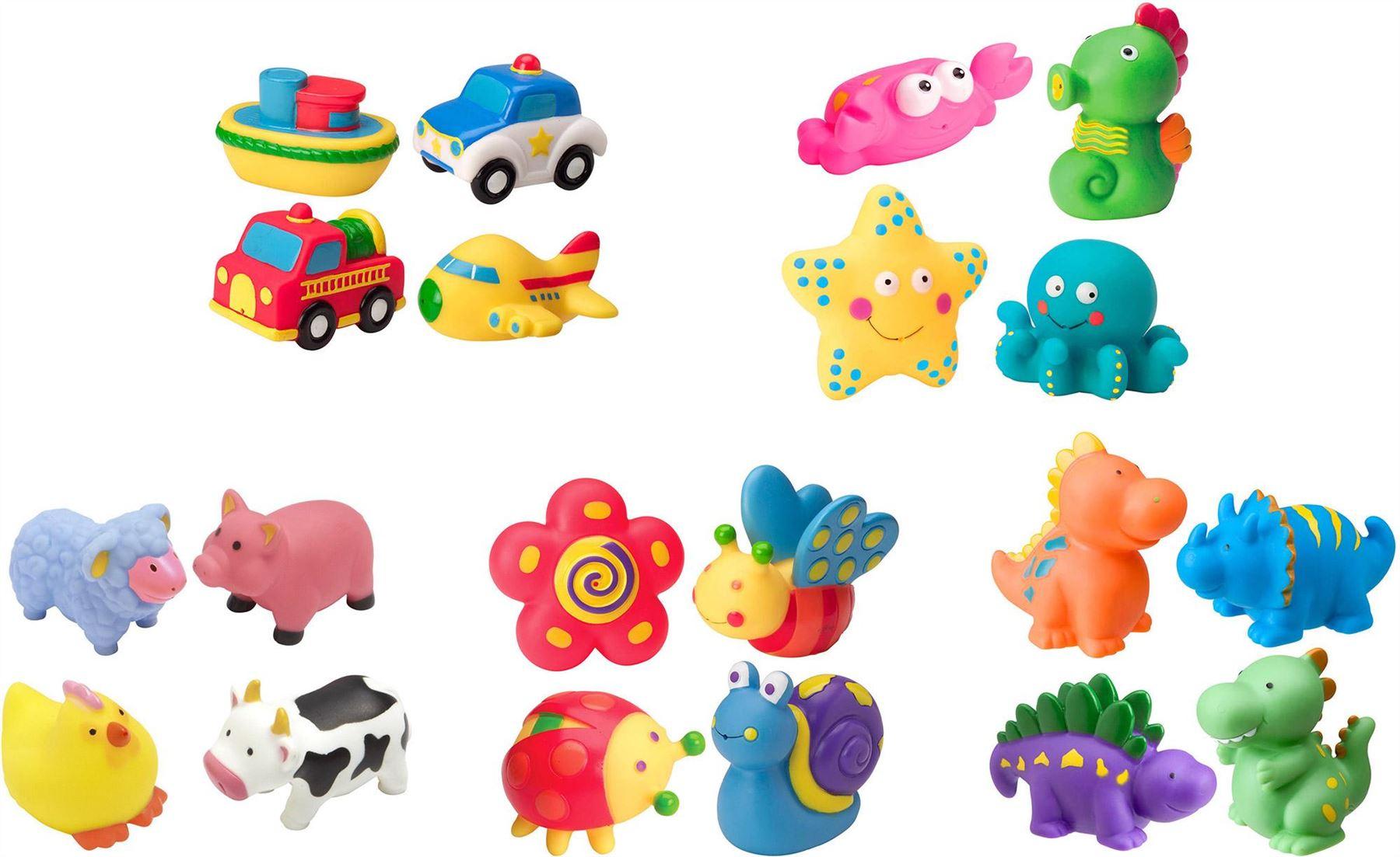 Alex RUB A DUB BATH SQUIRTERS Dino/Farm/Sport/Vehicles Baby/Child ...