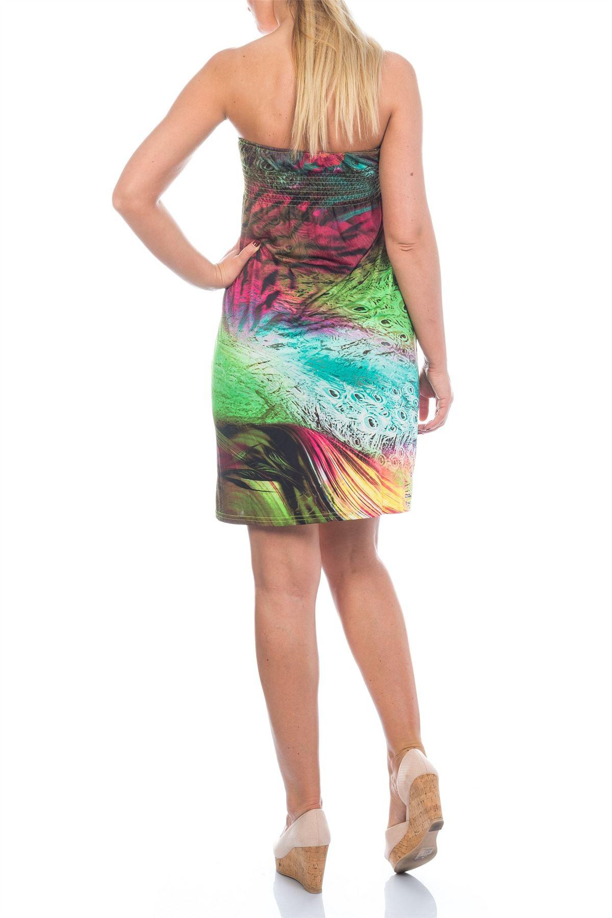 Martildo Womens Tropical Short Holiday Summer Sundress ... - photo#41