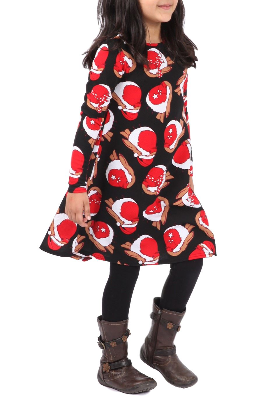 Dress up xmas party - Kids Girls Dress Up Christmas Xmas Party Swing