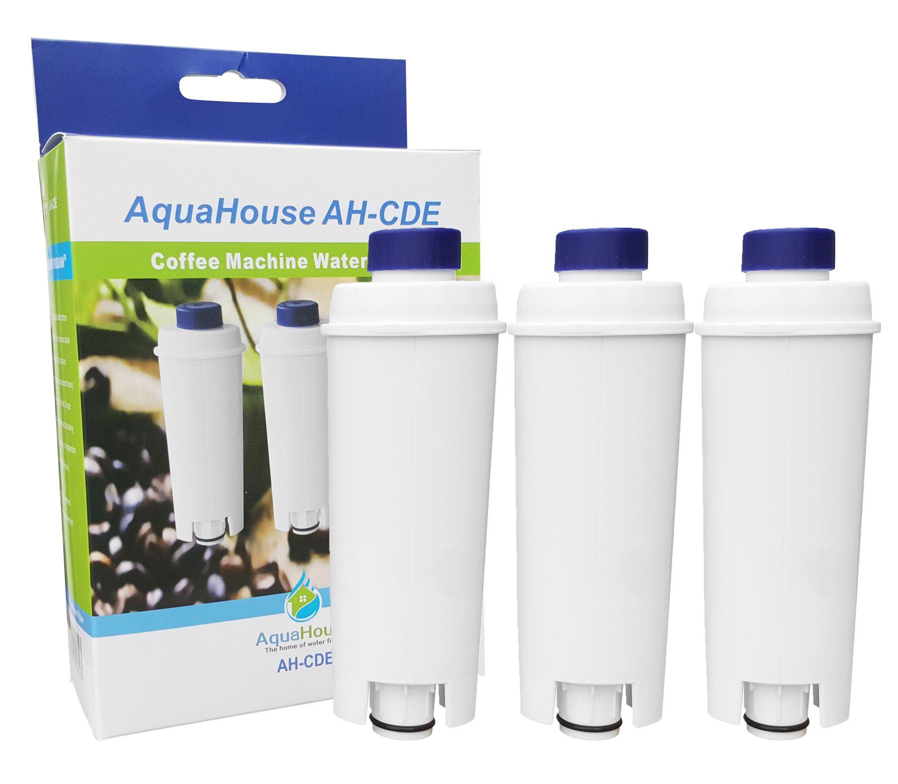 Confezione da 5 filtri dellacqua compatibili con macchine da caff/è a filtro Magnifica EC Caffe SER 3017 BCO ESAM ETAM DLSC002 ECAM Delonghi DLS C002 Cappuccino