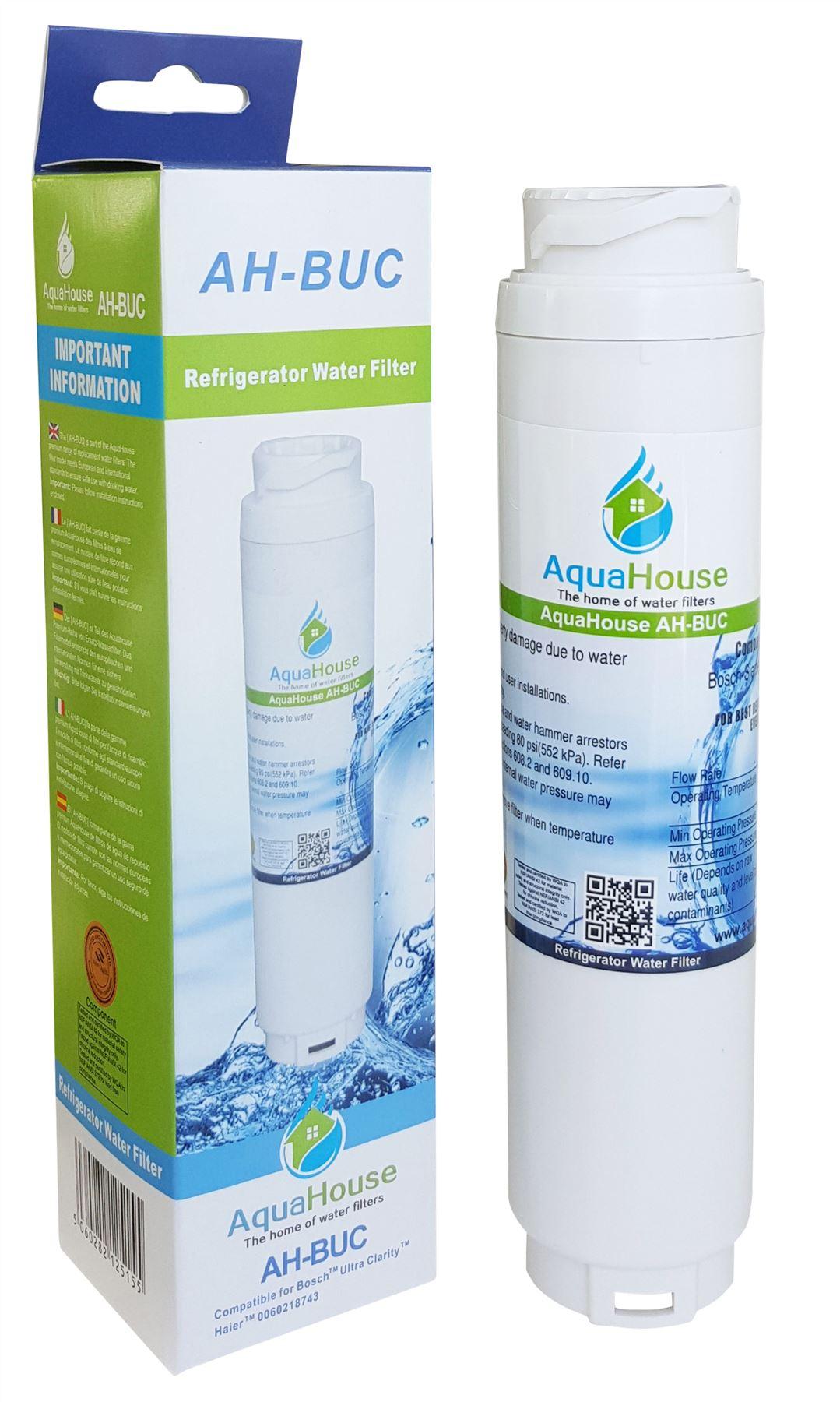 Filtro acqua compatibile per Rangemaster DXD 90170 dxd910 Bosch Ultra Clarity