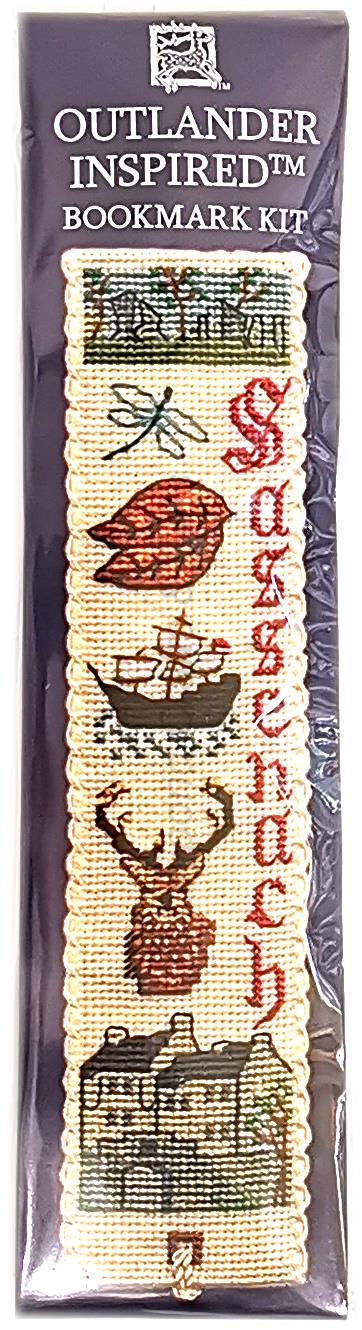 Outlander Inspired Textile Heritage Counted Cross Stitch Bookmark