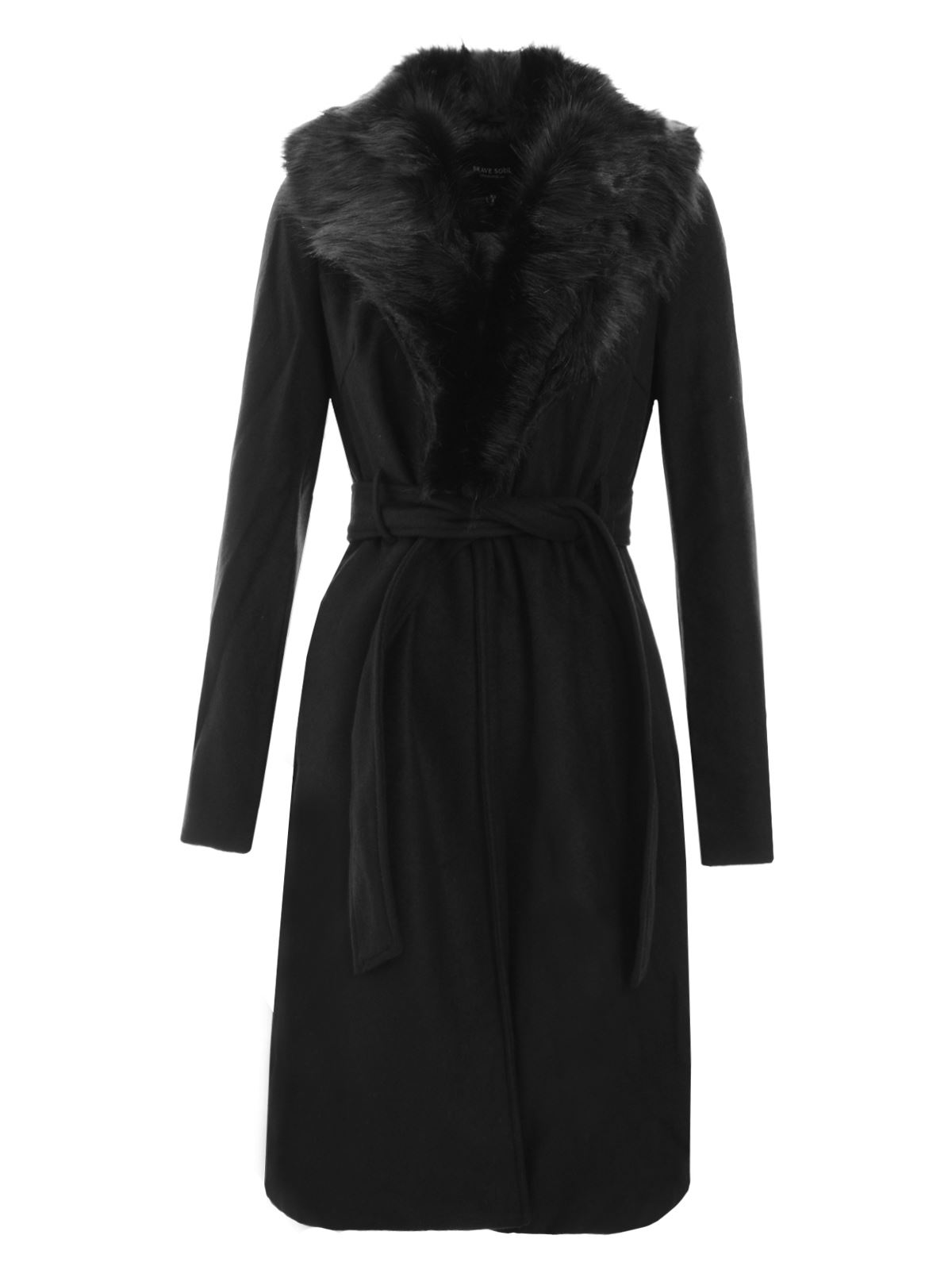 Shop RED VALENTINO Belted Coat - Black, starting at $ Similar ones also available. On SALE now!
