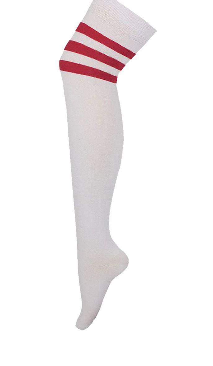 bininbox men's socks baseball football basketball sport over knee high socks white. Sold by Operose. $ $ Muk Luks Women's Multi Floral Over the Knee Microfiber Socks (Pack of 3) Multi OSFM. Sold by fabulousdown4allb7.cf $ $