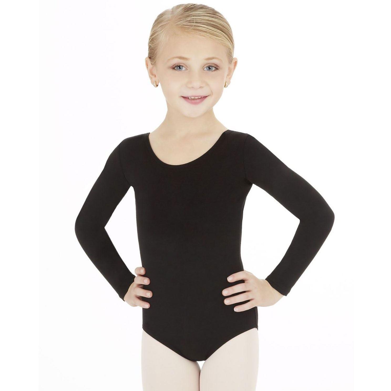 new girls uniform leotard long sleeve leotards kids dance