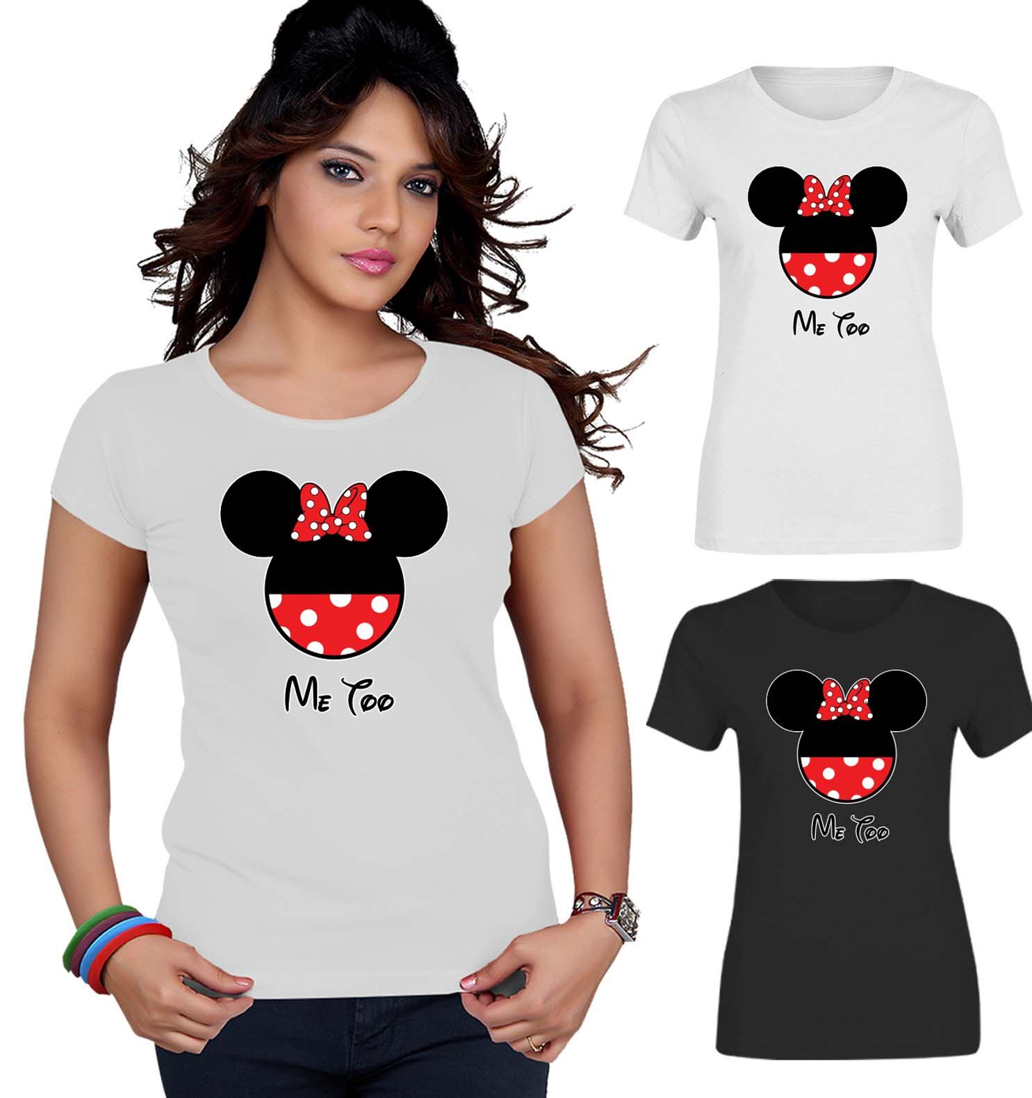 Drop Tail Slounge T-Shirt I Love The 80s Music Wave Printed Ladies Off Shoulder
