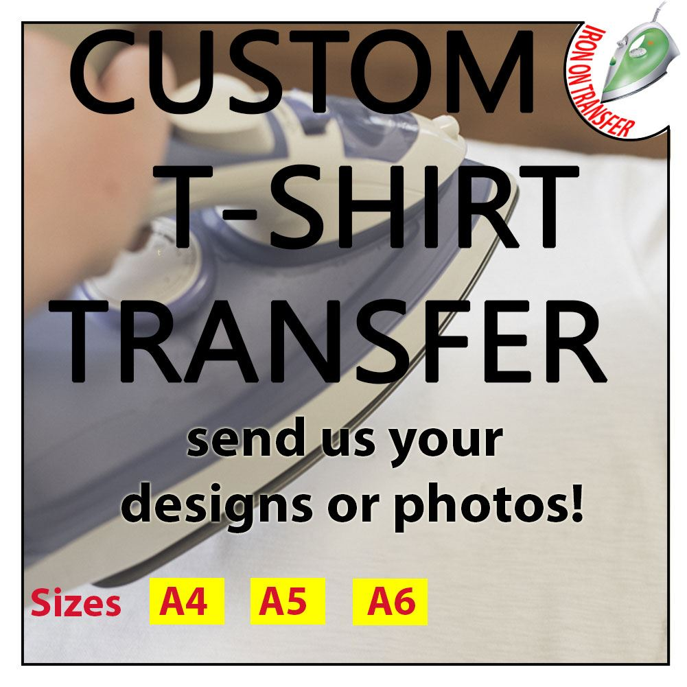 Personalised Custom Iron On T Shirt Transfer Any Text Your Name Hen Stag Design